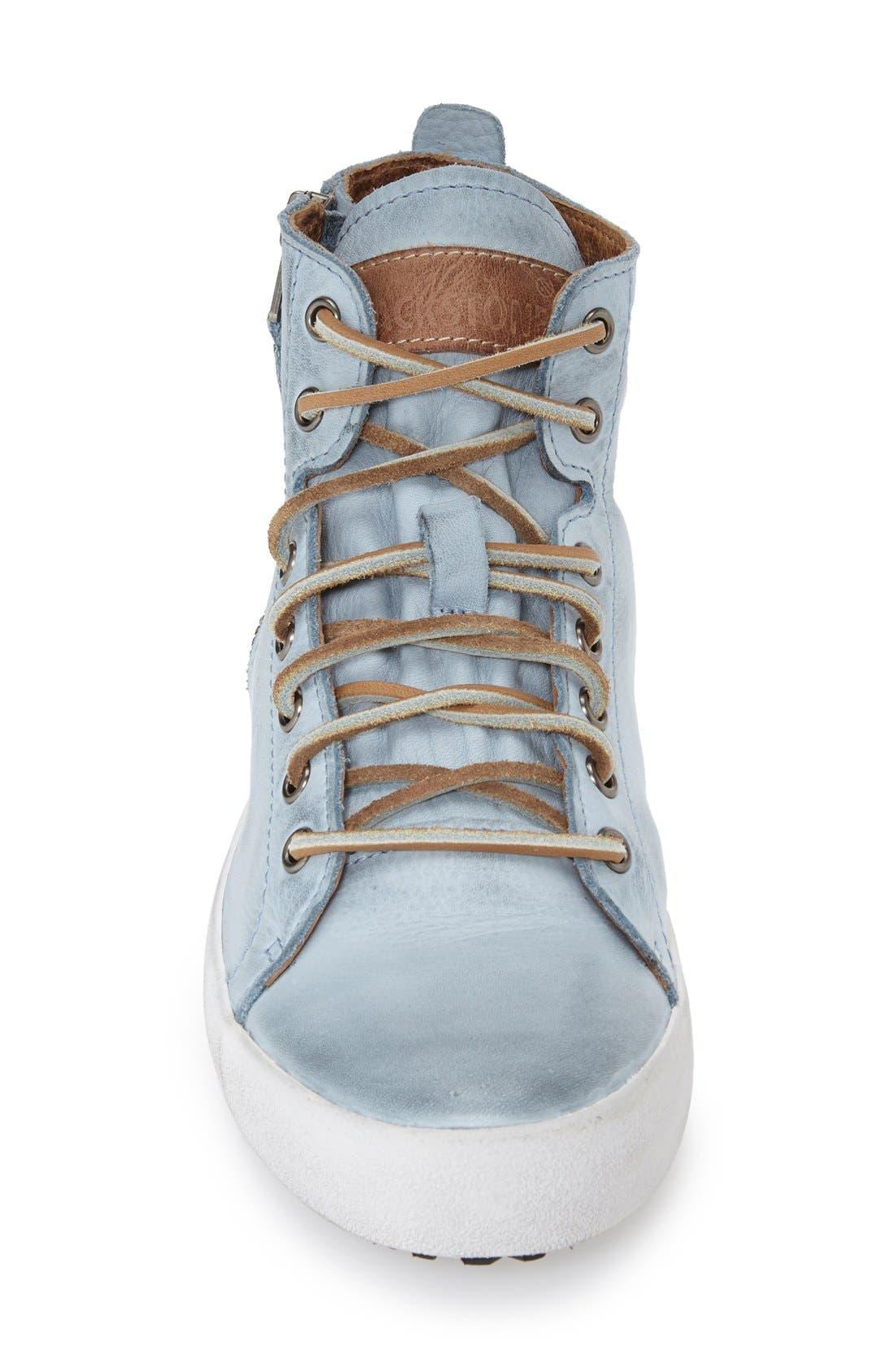 'JL' High Top Sneaker,                             Alternate thumbnail 3, color,                             421
