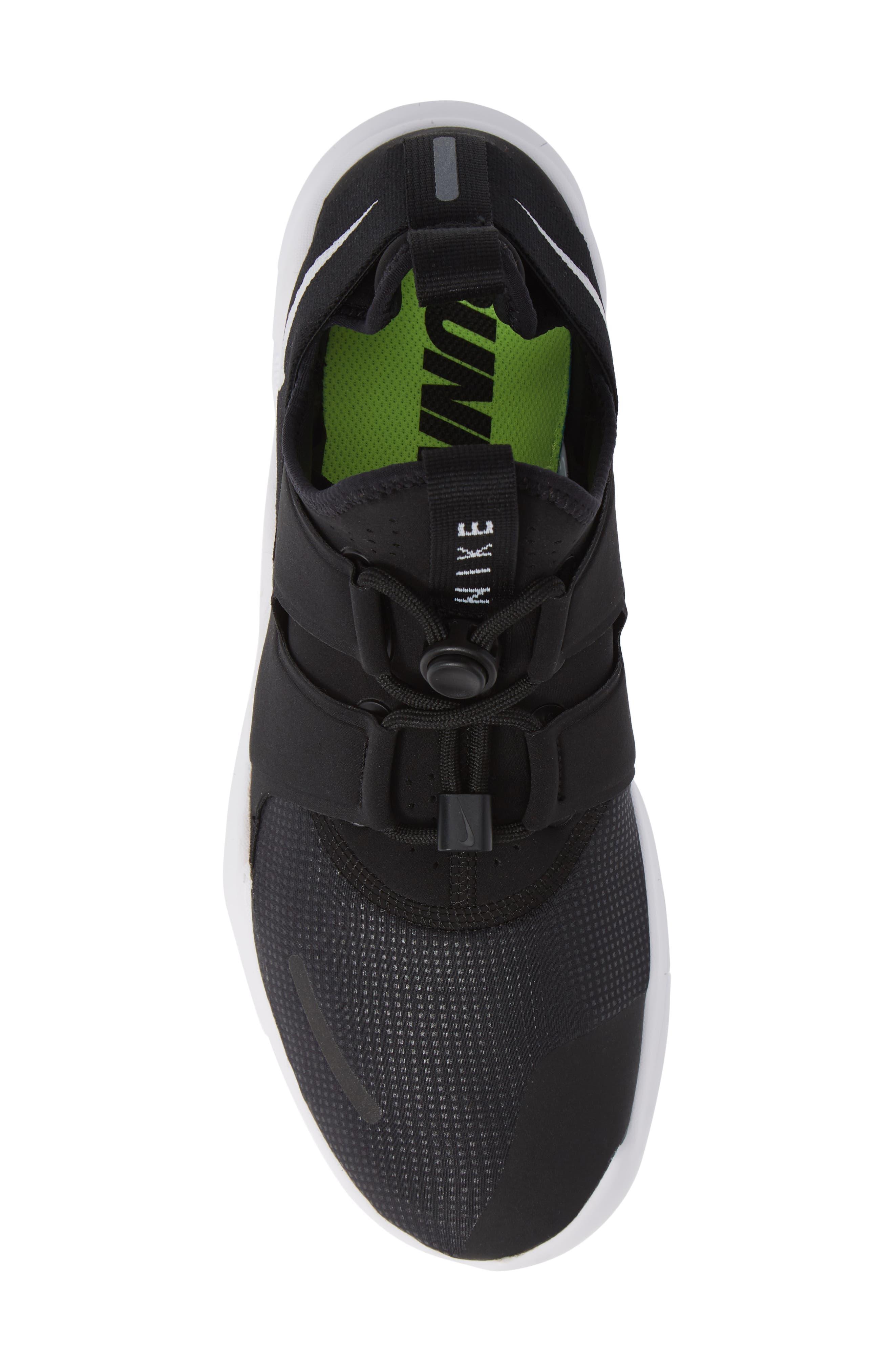 Free RN Commuter 2018 Running Shoe,                             Alternate thumbnail 5, color,                             BLACK/ WHITE
