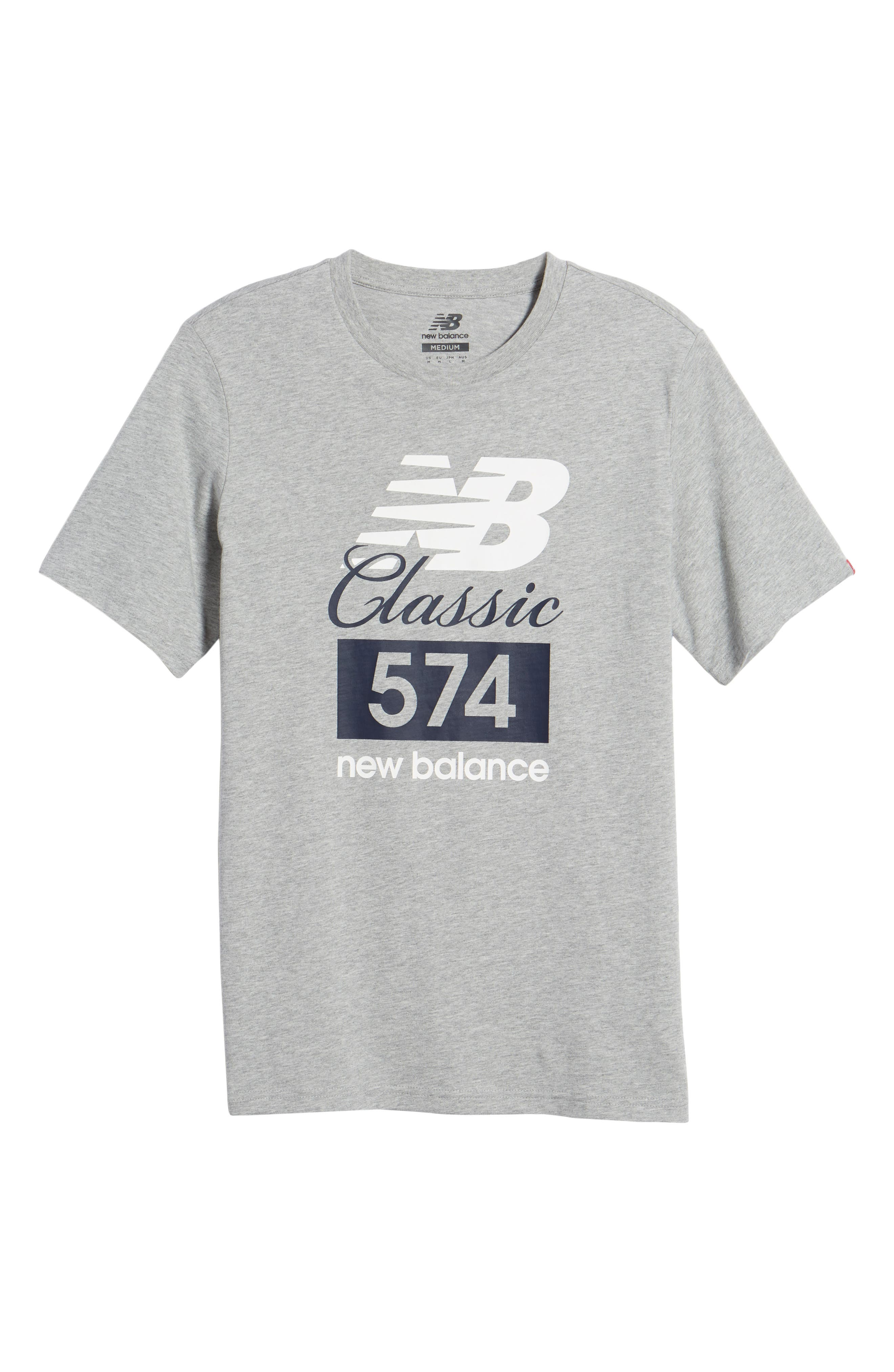 Athletics Classic 574 Crewneck T-Shirt,                             Alternate thumbnail 6, color,                             053