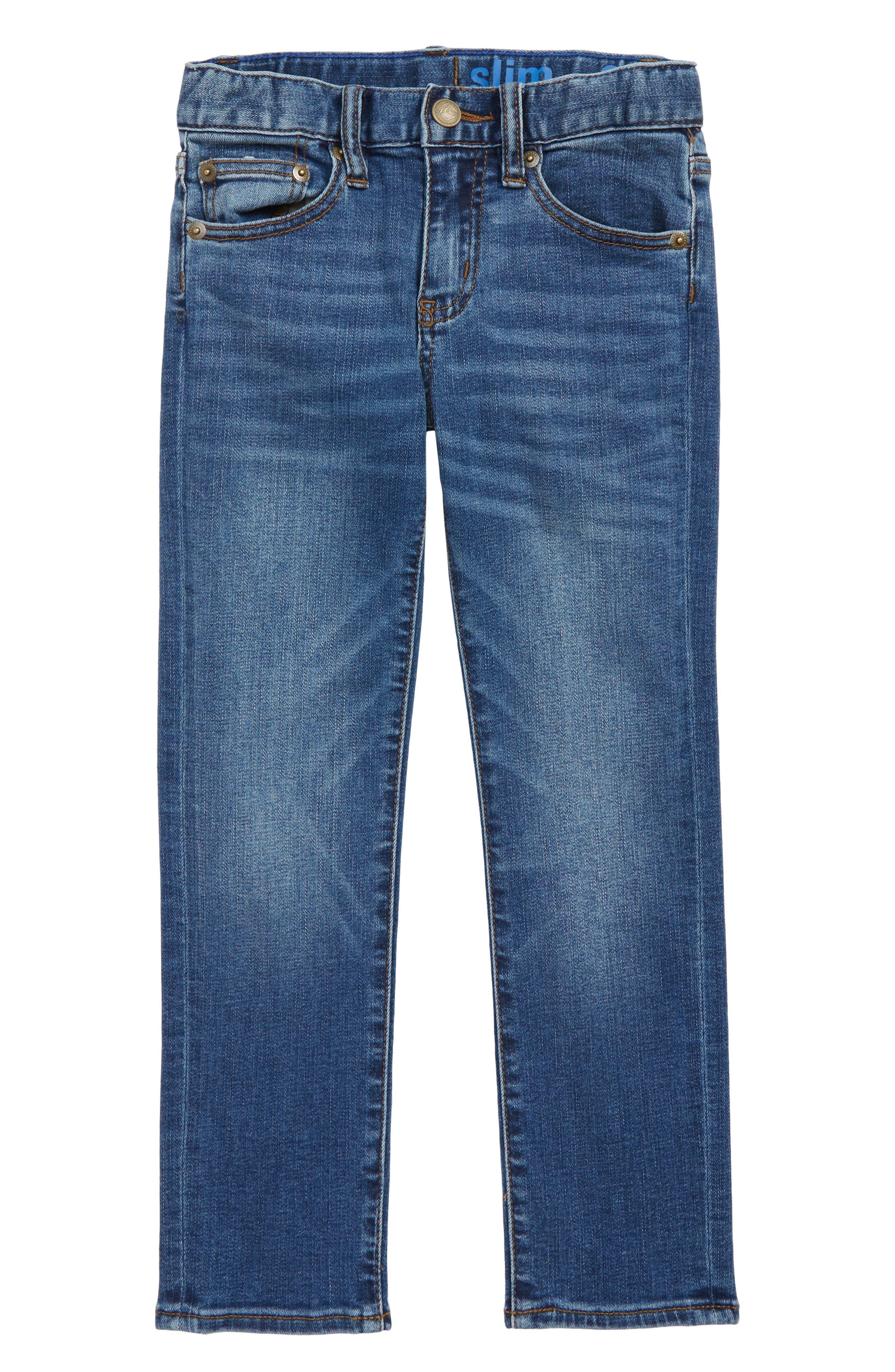 Runaround Slim Fit Jeans,                         Main,                         color, 400