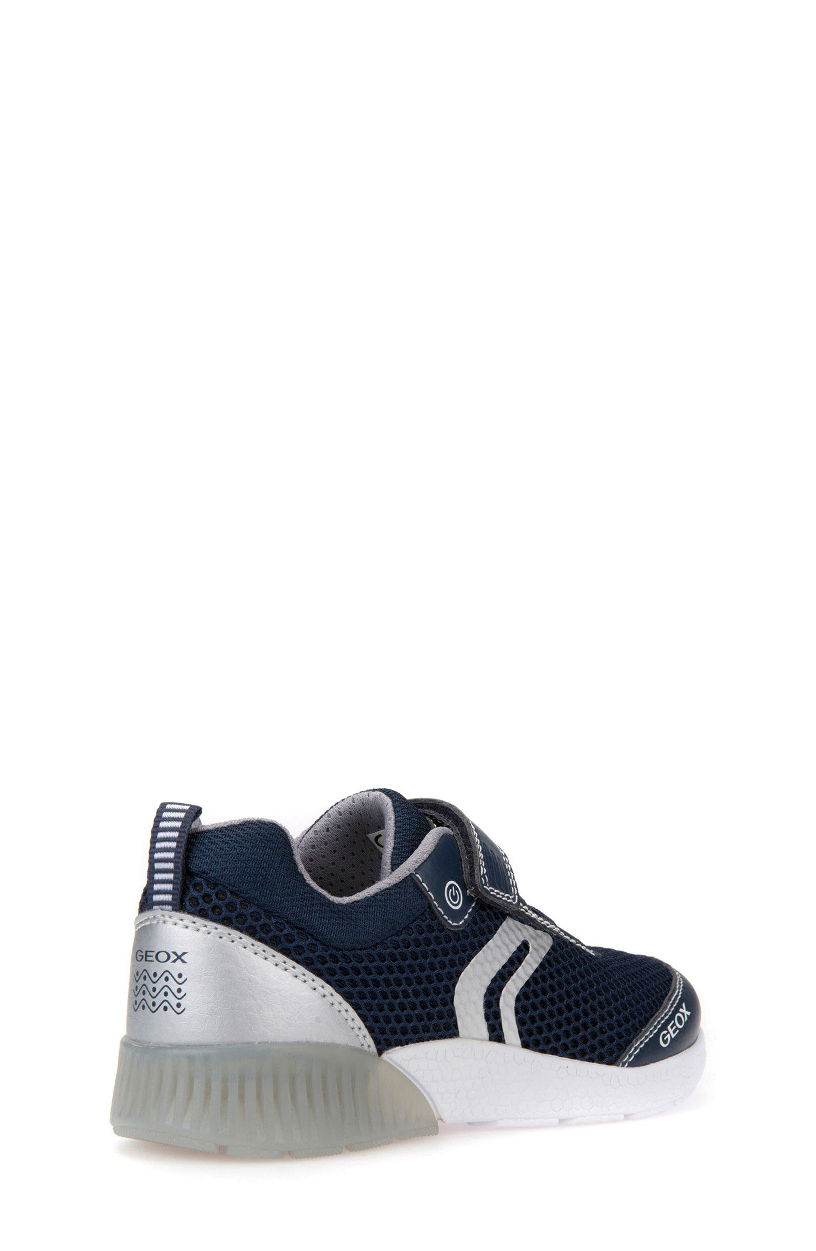 Sveth Light-Up Sneaker,                             Alternate thumbnail 2, color,                             NAVY/ SILVER