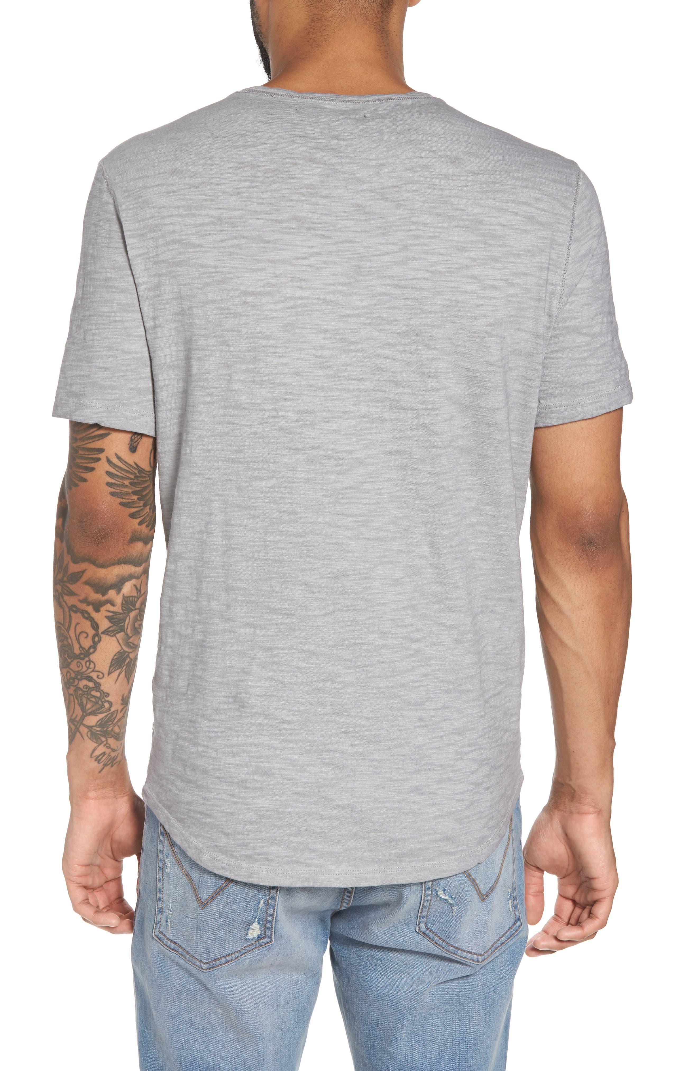 Slim Fit Slubbed T-Shirt,                             Alternate thumbnail 5, color,
