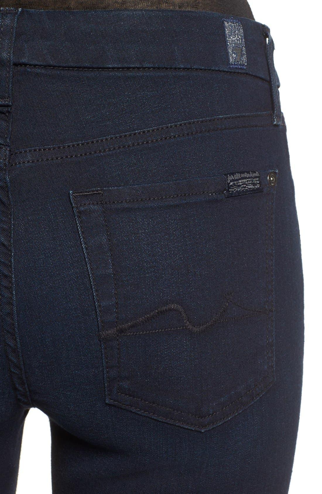'b(air) - Kimmie' Straight Leg Jeans,                             Alternate thumbnail 4, color,
