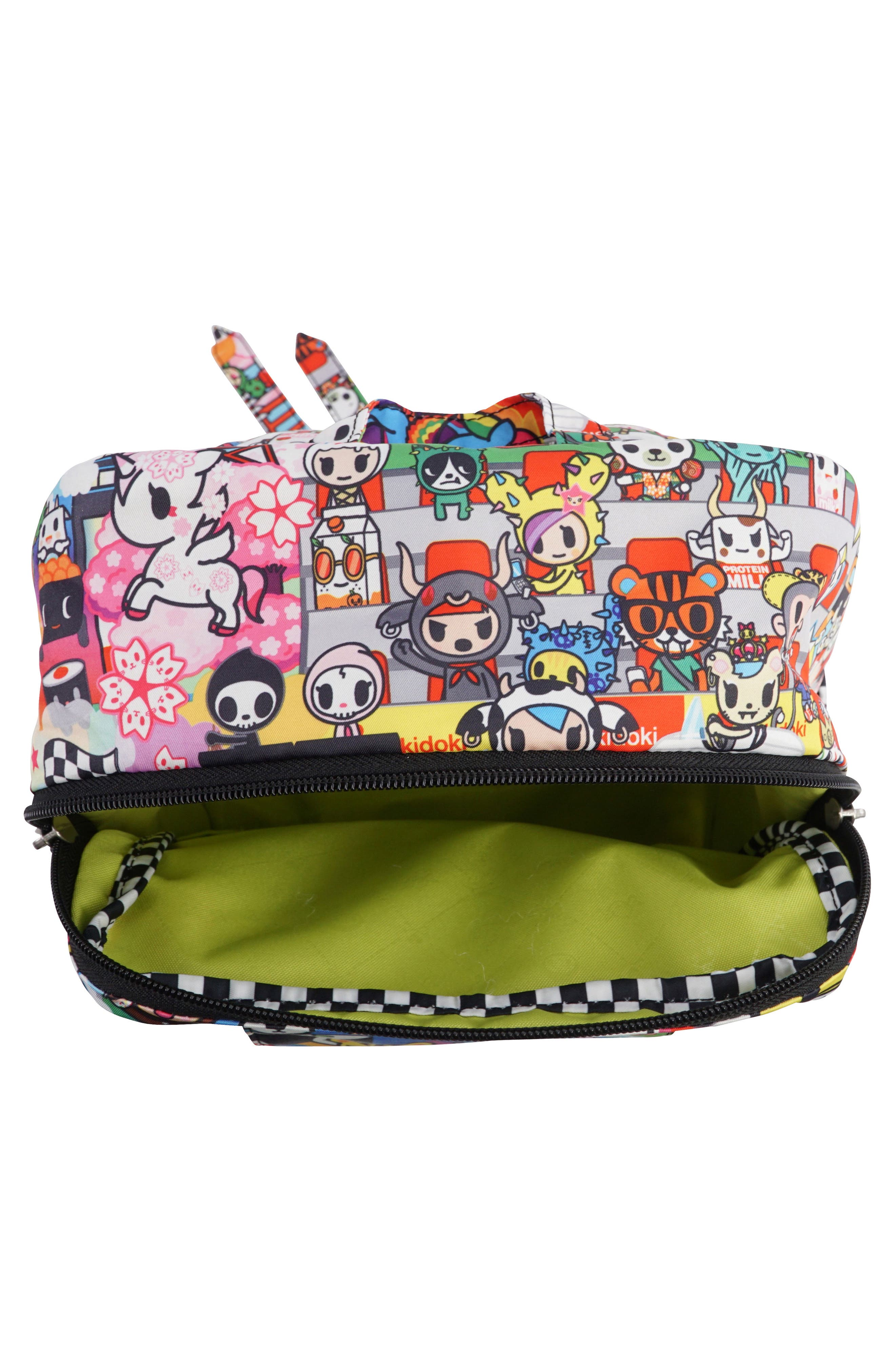 tokidoki x Ju-Ju-Be 'Mini Be' Backpack,                             Alternate thumbnail 5, color,                             SUSHI CARS