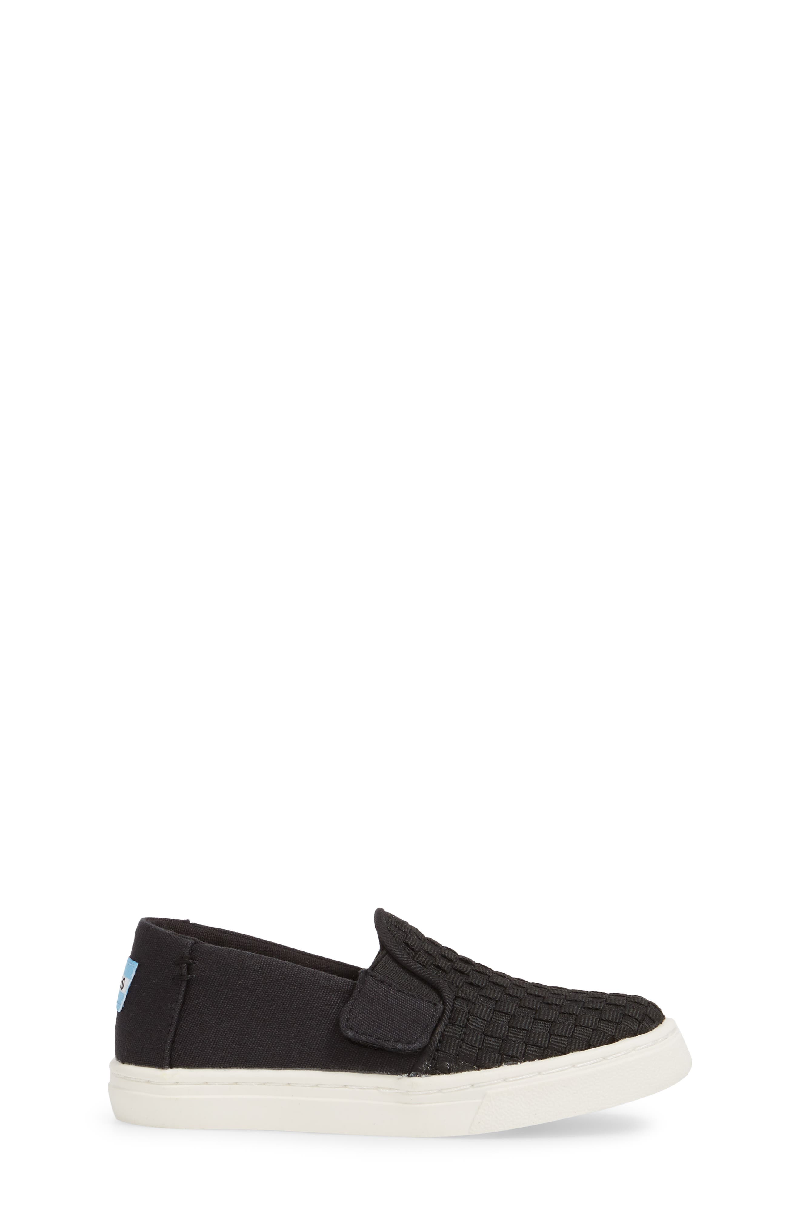 Luca Slip-On Sneaker,                             Alternate thumbnail 3, color,                             001