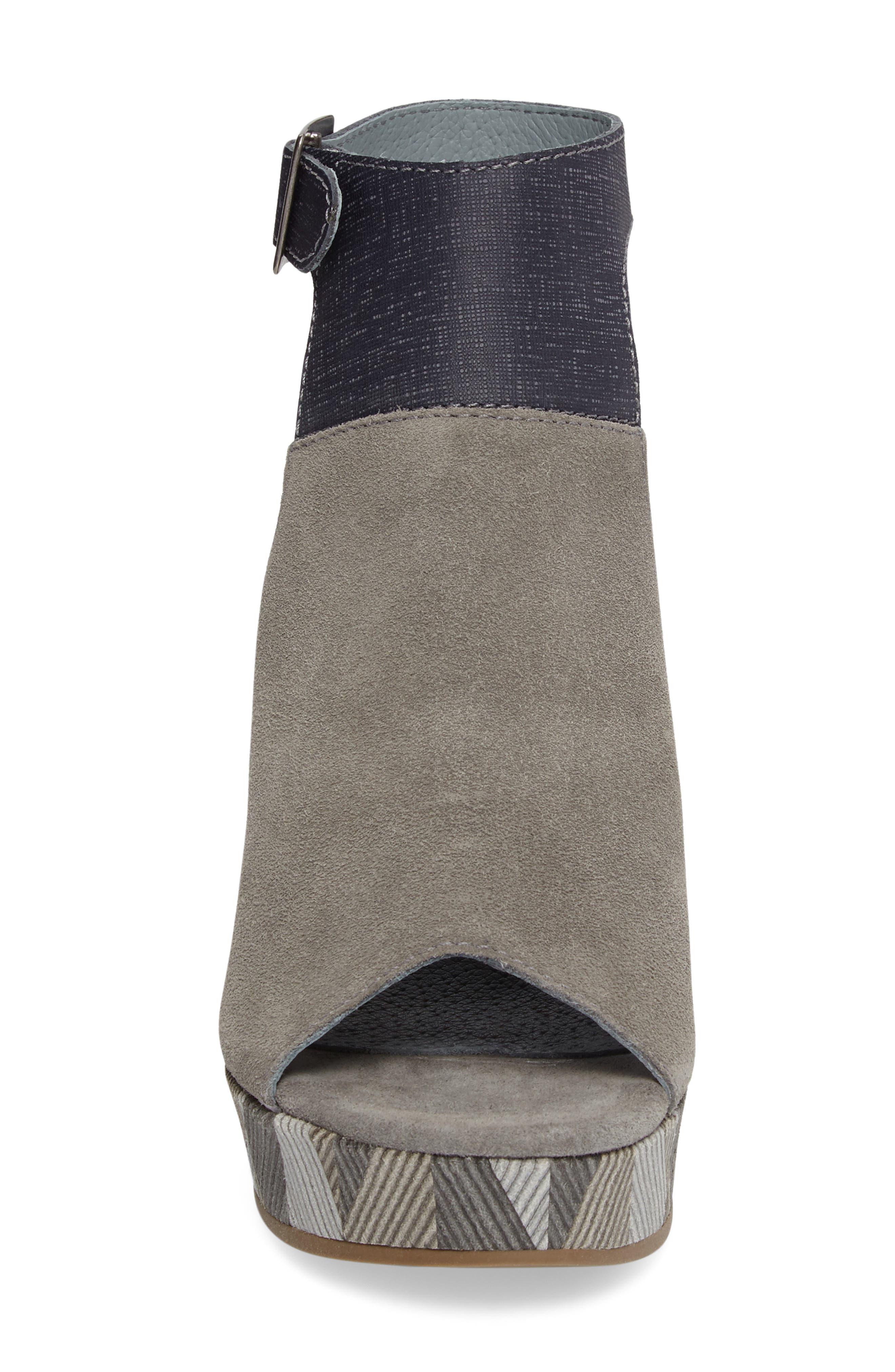 Harlequin Wedge Sandal,                             Alternate thumbnail 4, color,                             029