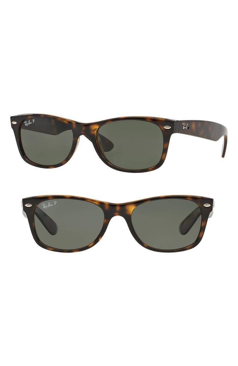1499e808497 Ray-Ban Small New Wayfarer 52mm Polarized Sunglasses