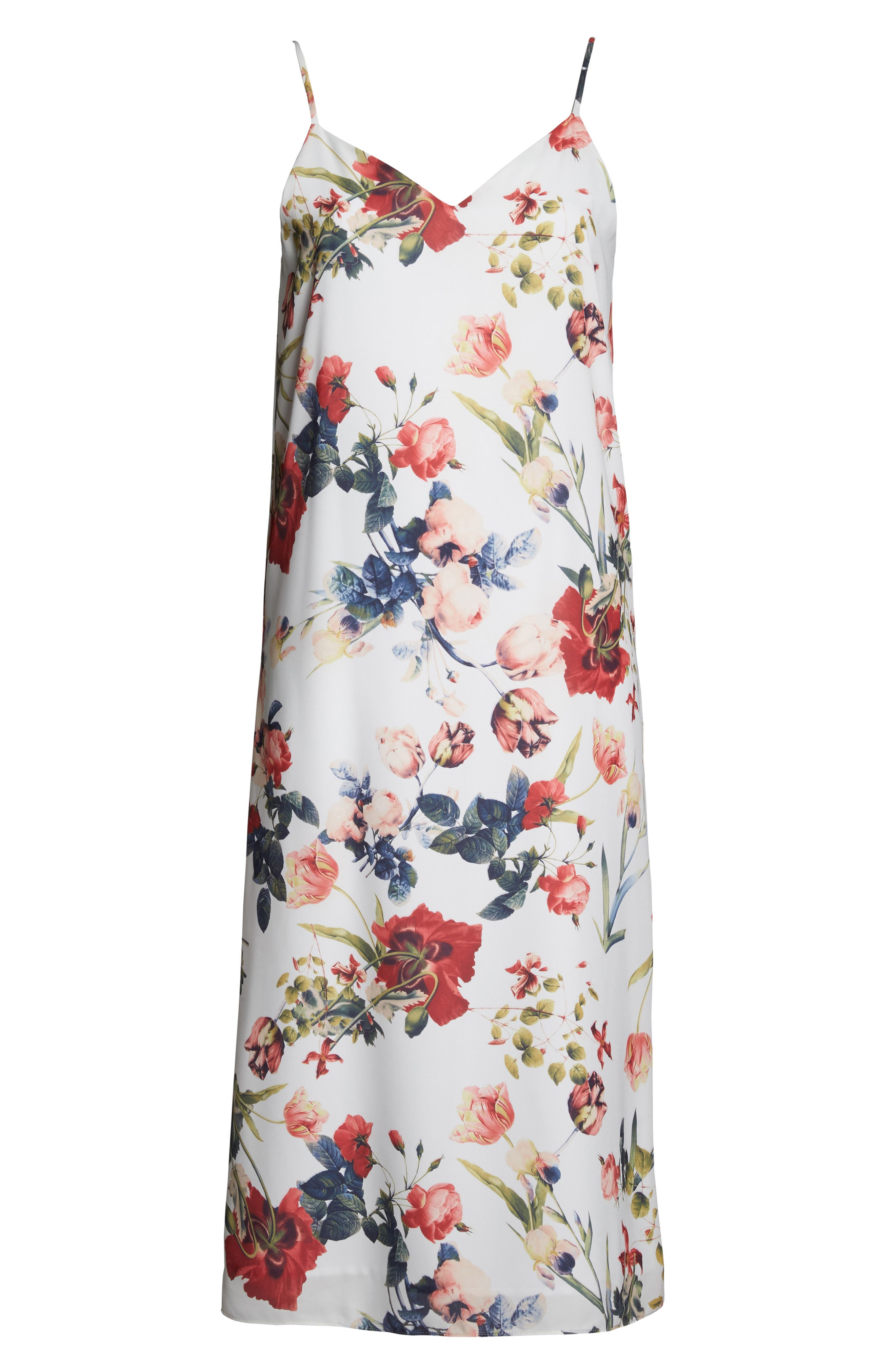Dobby Midi Dress,                             Alternate thumbnail 6, color,                             111