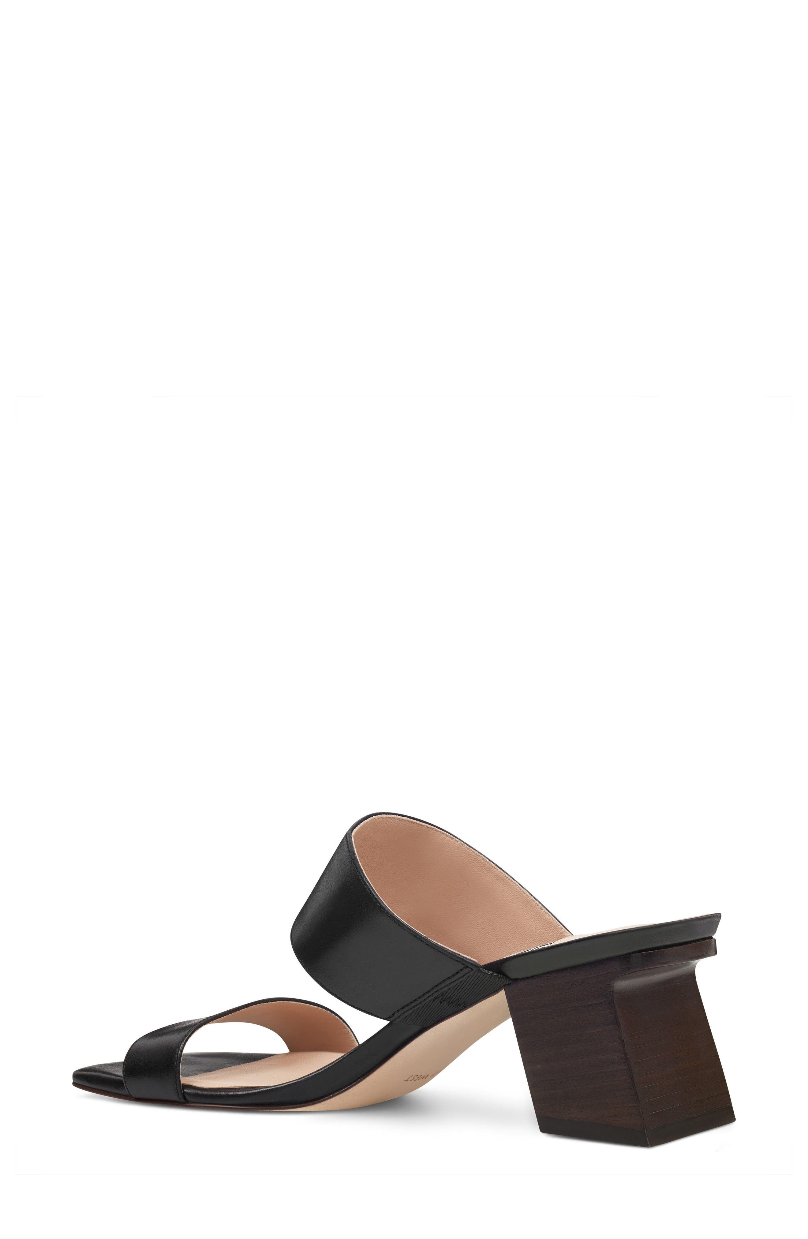 Churen - 40th Anniversary Capsule Collection Sandal,                             Alternate thumbnail 2, color,                             BLACK LEATHER