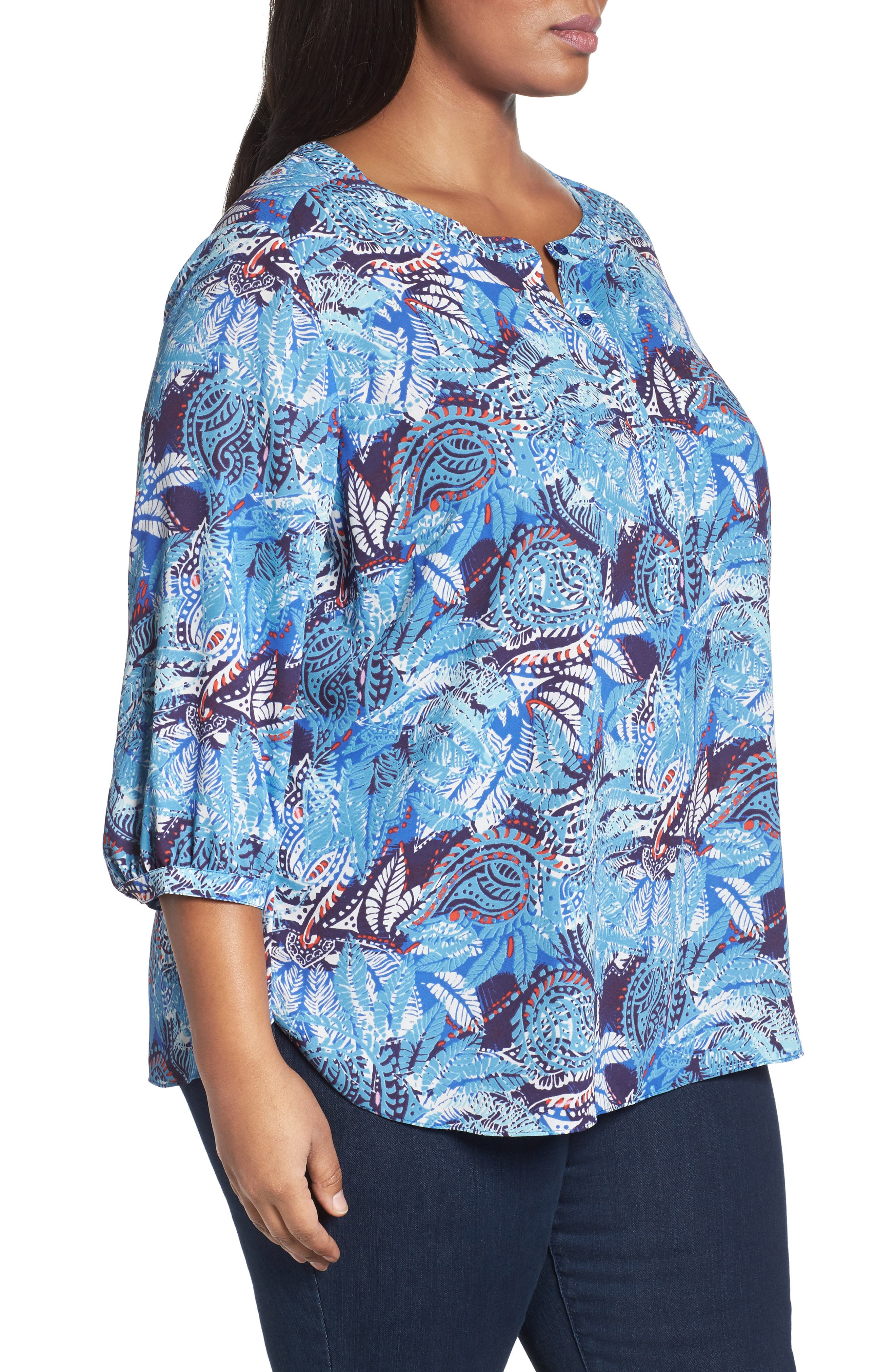 Henley Top,                             Alternate thumbnail 306, color,