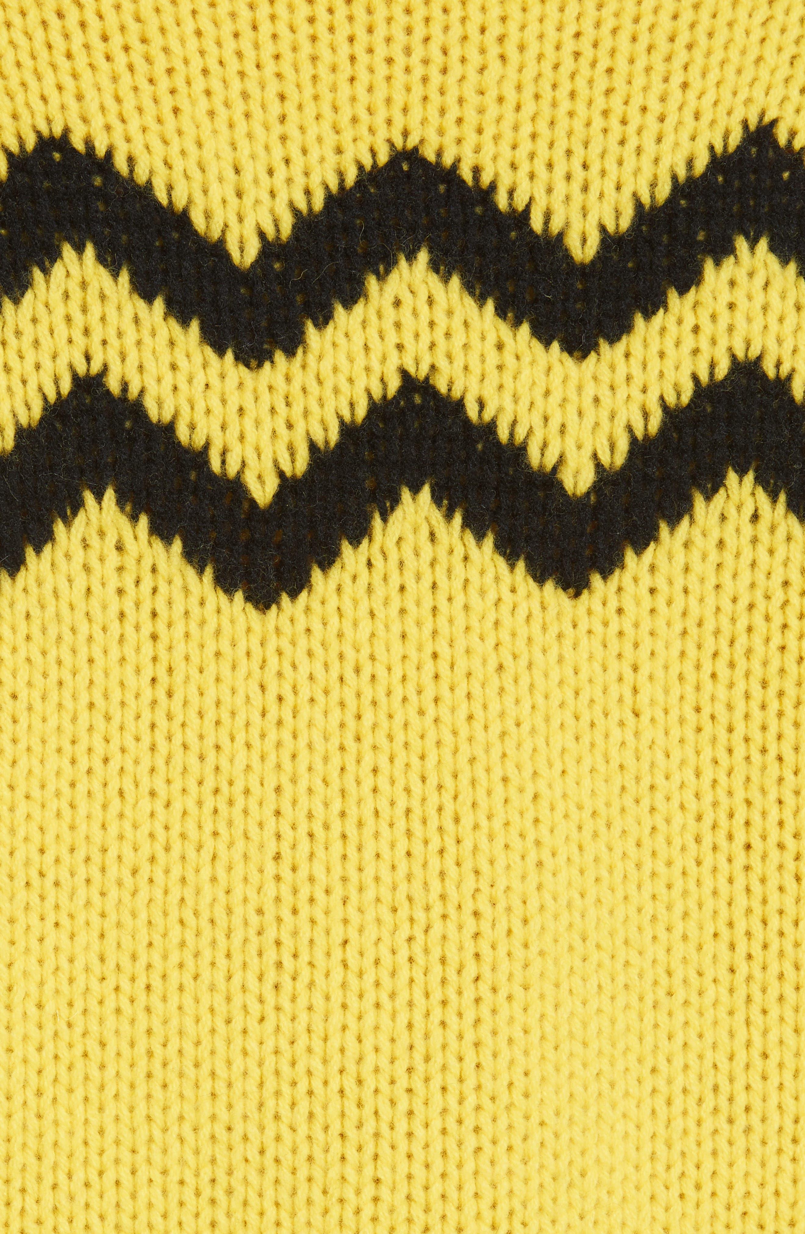 Chunky Intarsia Turtleneck Sweater,                             Alternate thumbnail 5, color,                             750