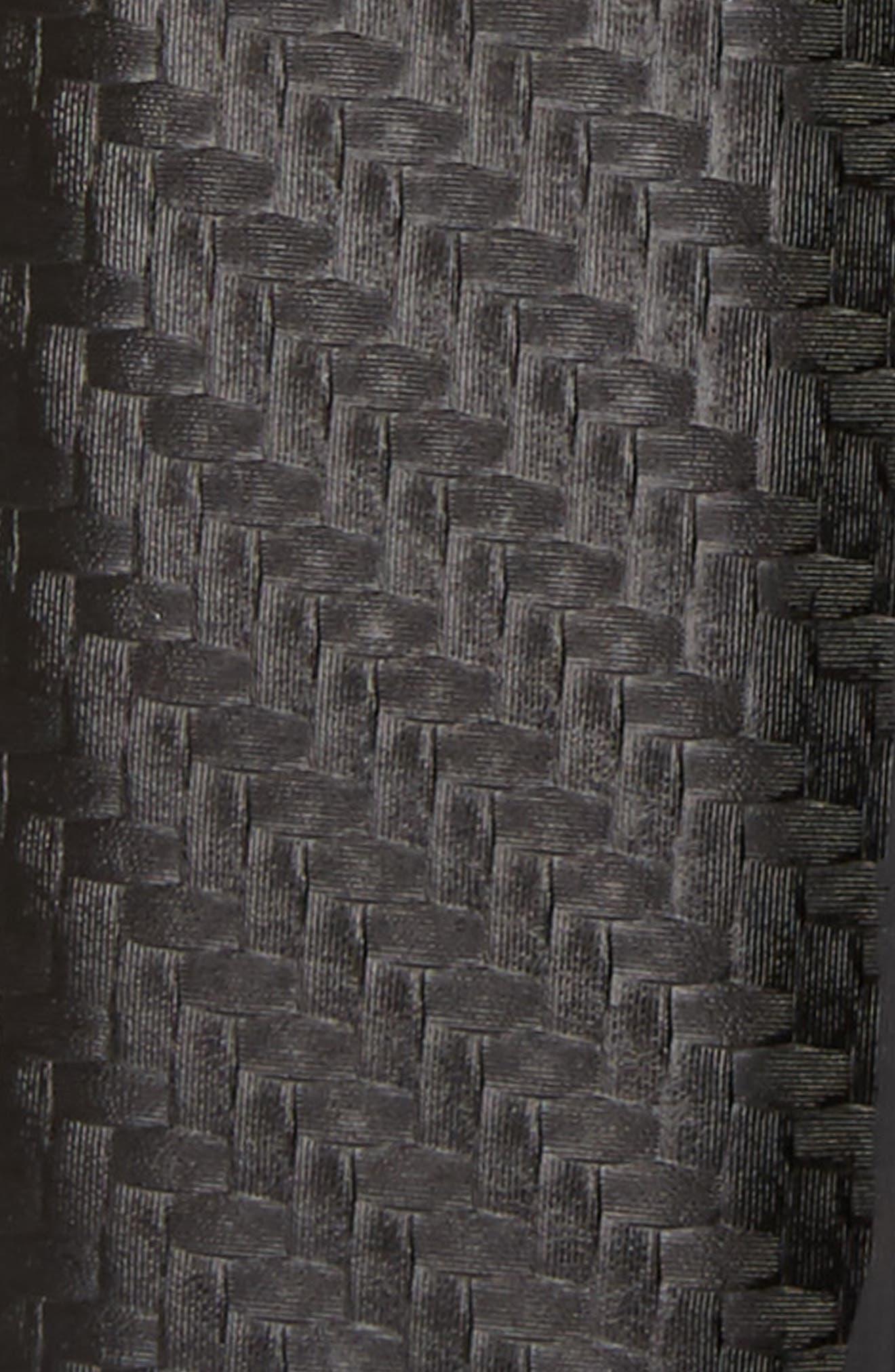 Leonne Reversible Leather Belt,                             Alternate thumbnail 3, color,                             001