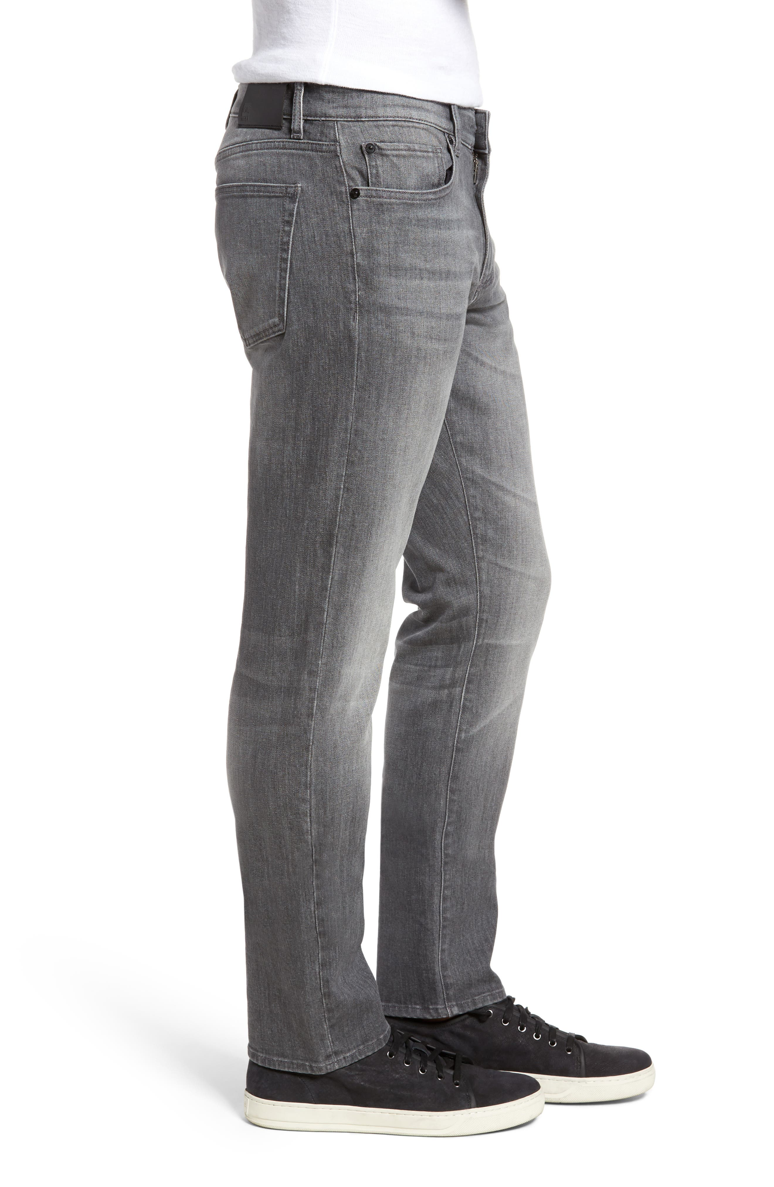 Russell Slim Straight Fit Jeans,                             Alternate thumbnail 3, color,                             020