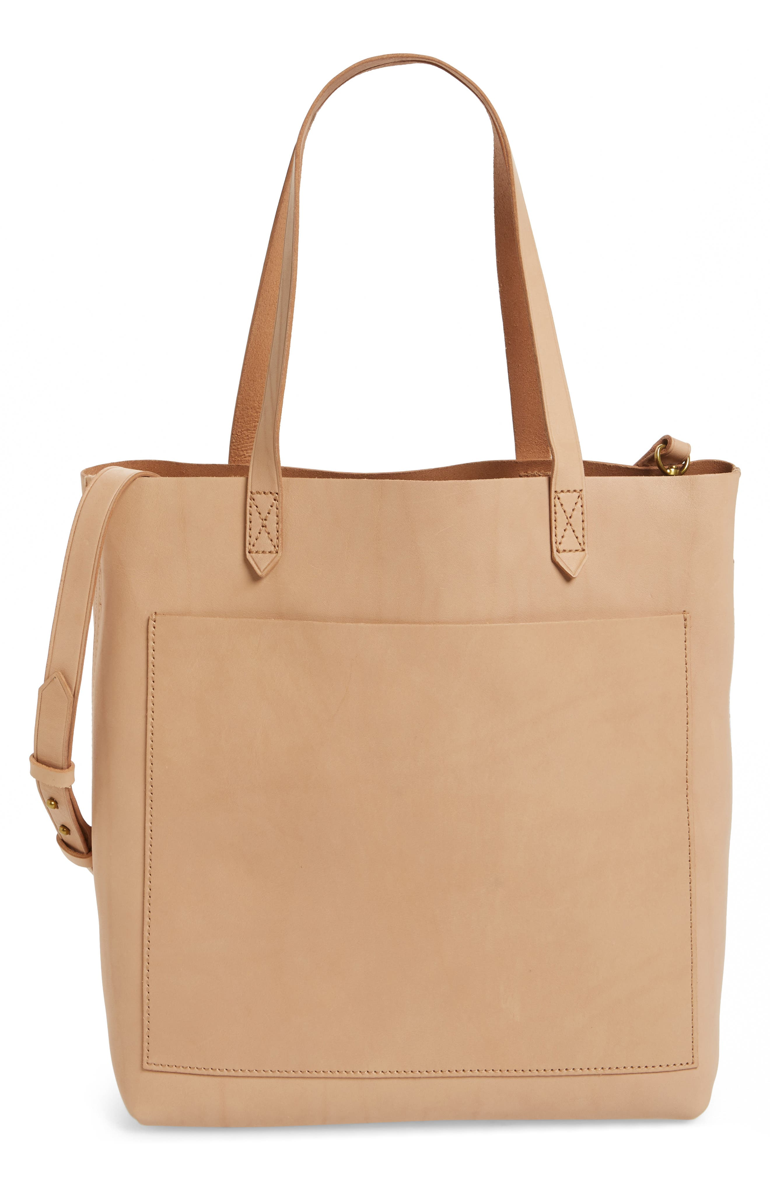 Medium Leather Transport Tote,                             Main thumbnail 18, color,