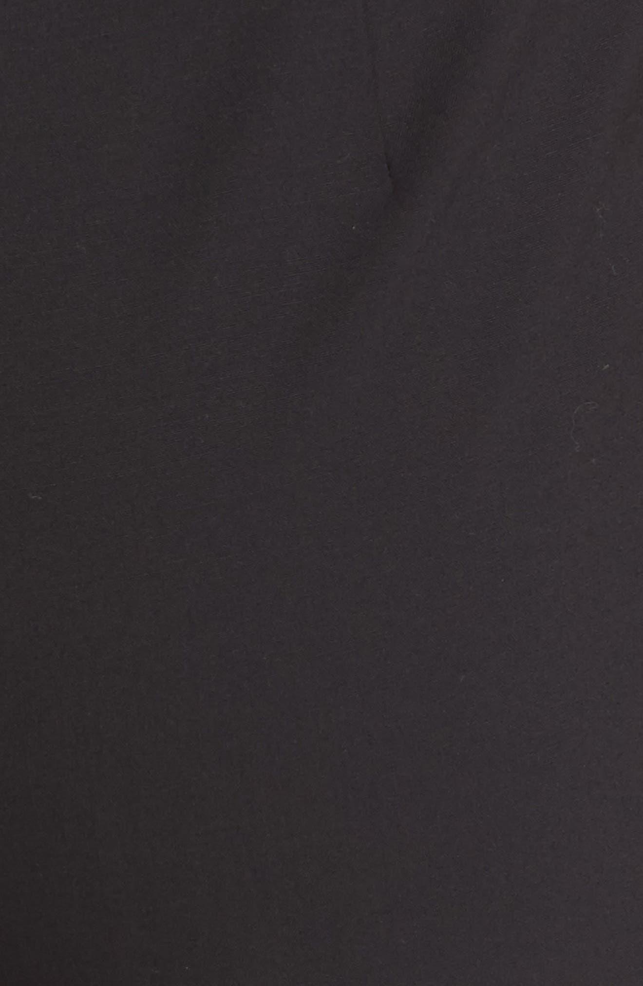 Barrow Stretch Wool Pants,                             Alternate thumbnail 5, color,                             BLACK