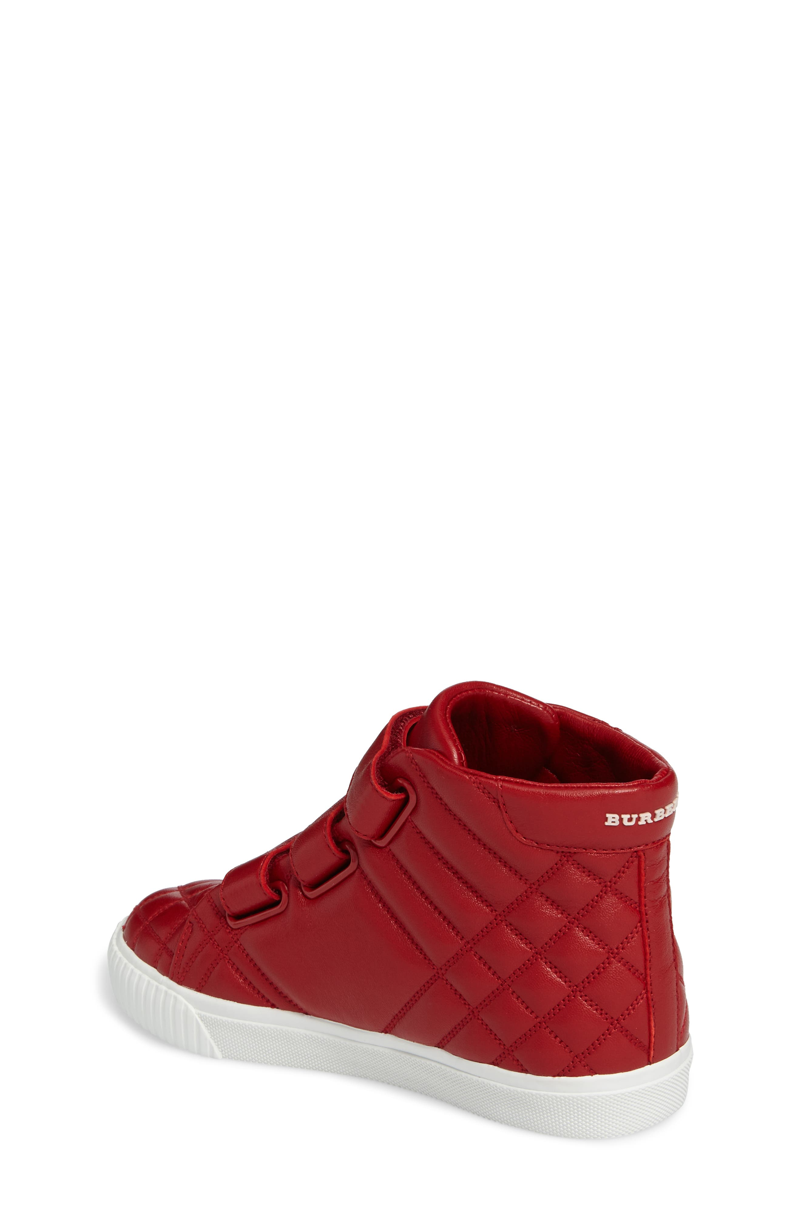 Sturrock Quilted High Top Sneaker,                             Alternate thumbnail 4, color,