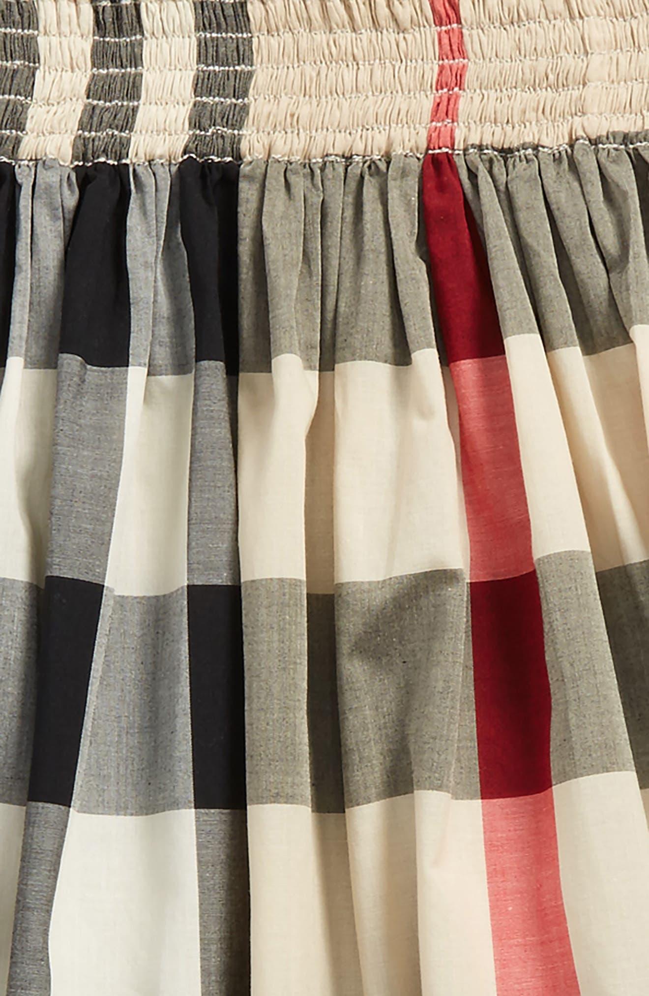 Hala Check Skirt,                             Alternate thumbnail 2, color,