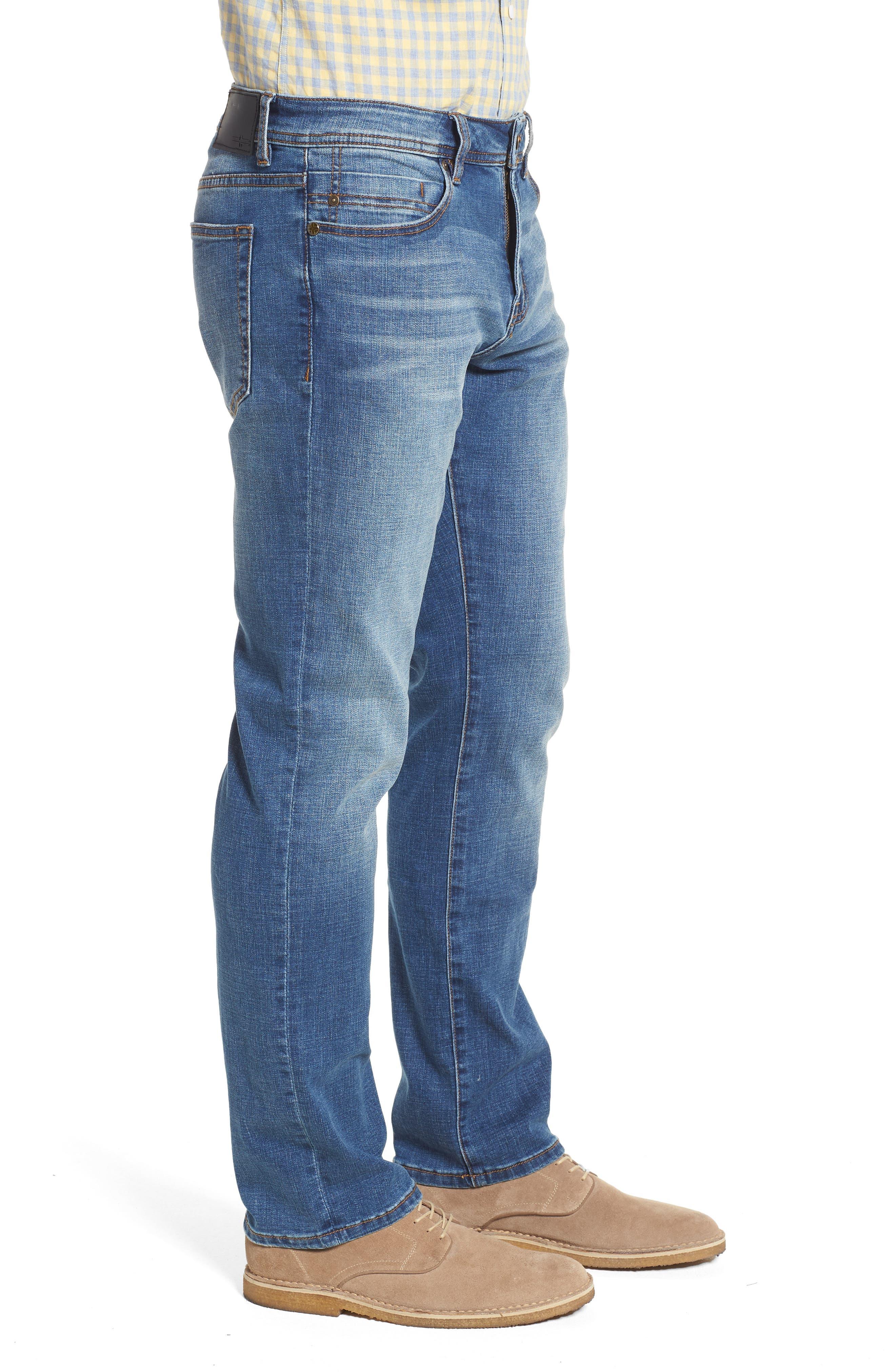 Jeans Co. Regent Relaxed Straight Leg Jeans,                             Alternate thumbnail 3, color,