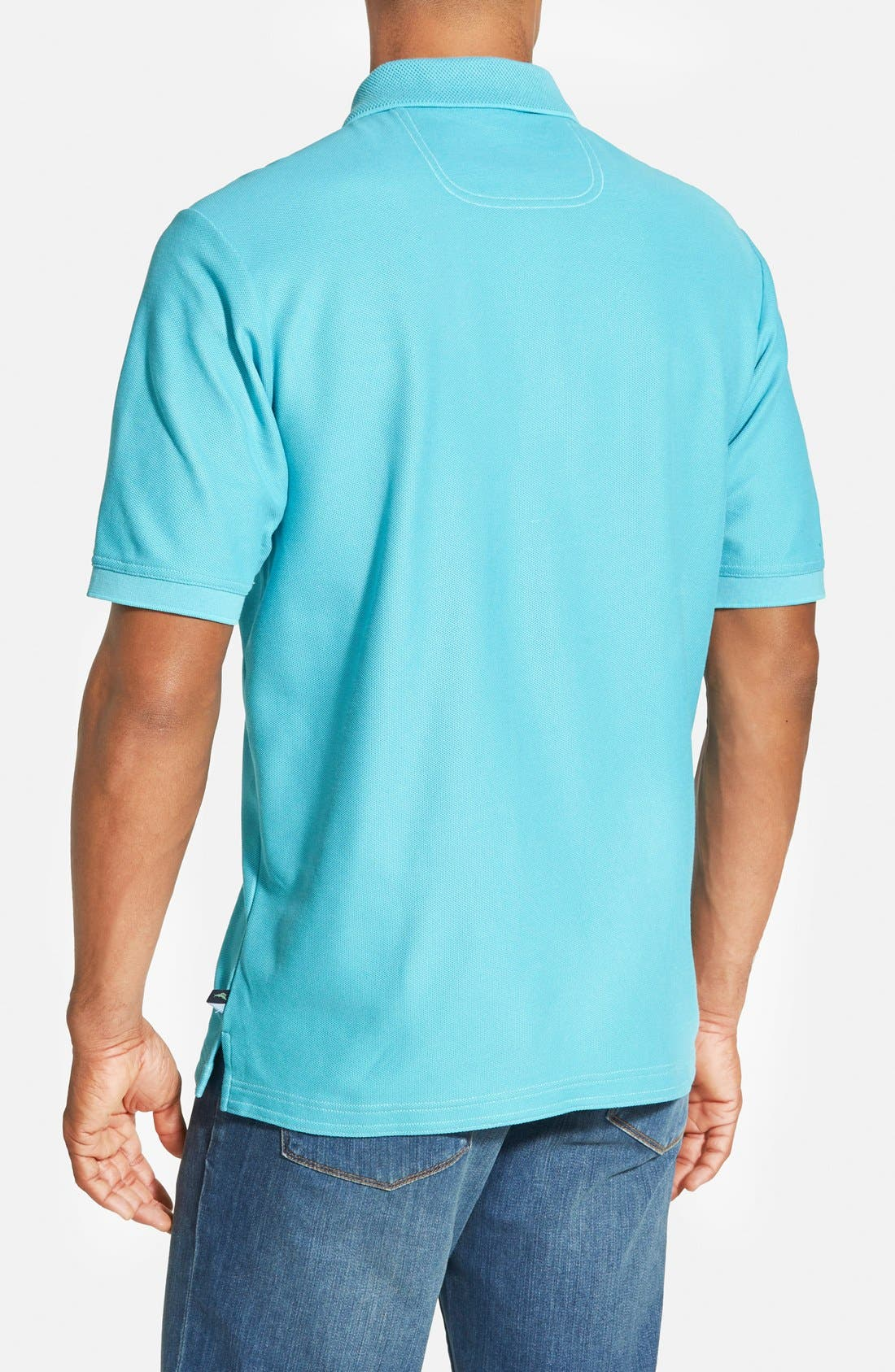 'The Emfielder' Original Fit Piqué Polo,                             Alternate thumbnail 147, color,