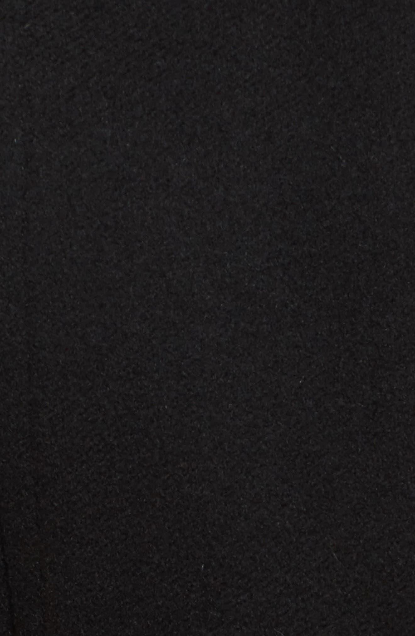 Wool & Cashmere Blend Military Coat,                             Alternate thumbnail 6, color,                             001