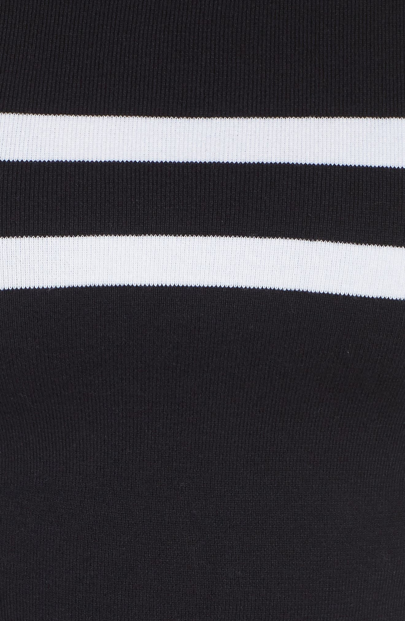 Nala Crop Sweater,                             Alternate thumbnail 6, color,                             INDIGO