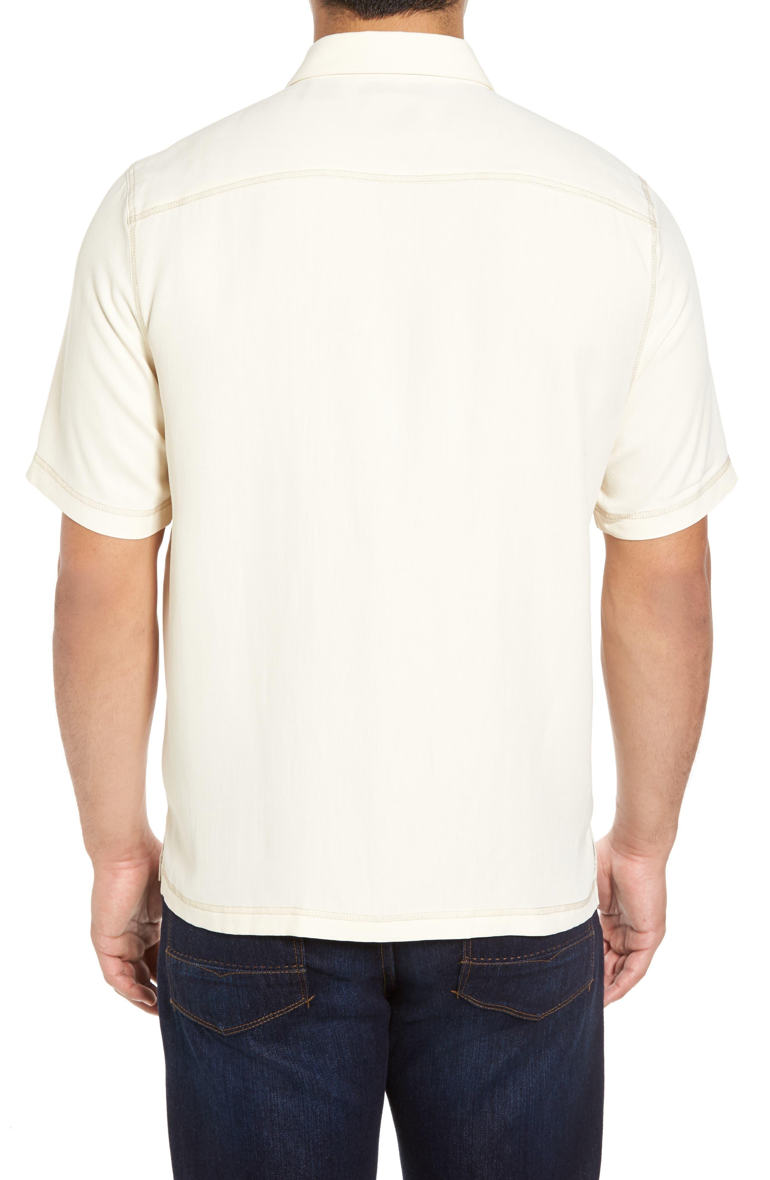 New Originals Silk Sport Shirt,                             Alternate thumbnail 5, color,