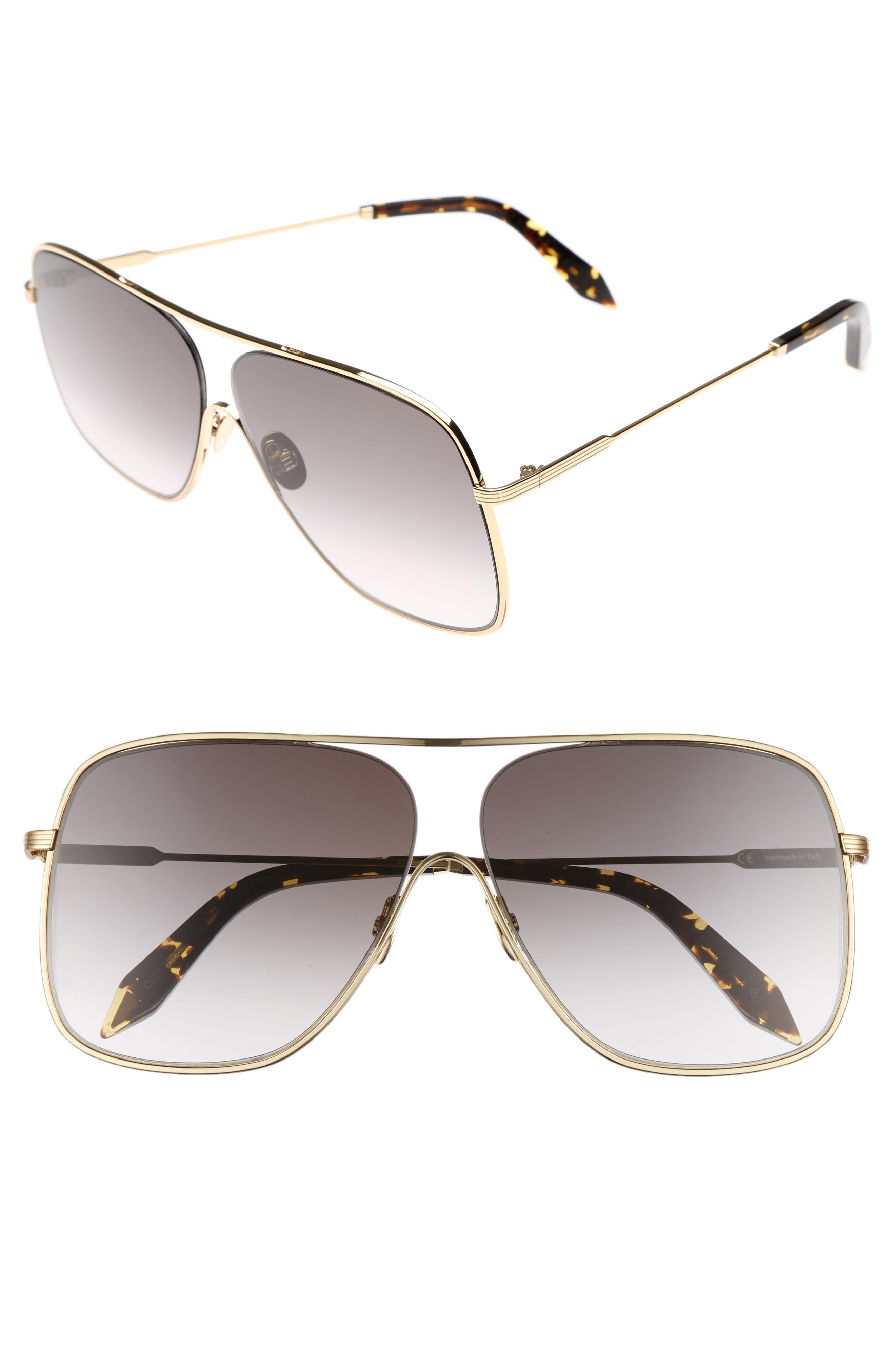 Loop 61mm Navigator Sunglasses,                             Main thumbnail 1, color,                             GALAXY