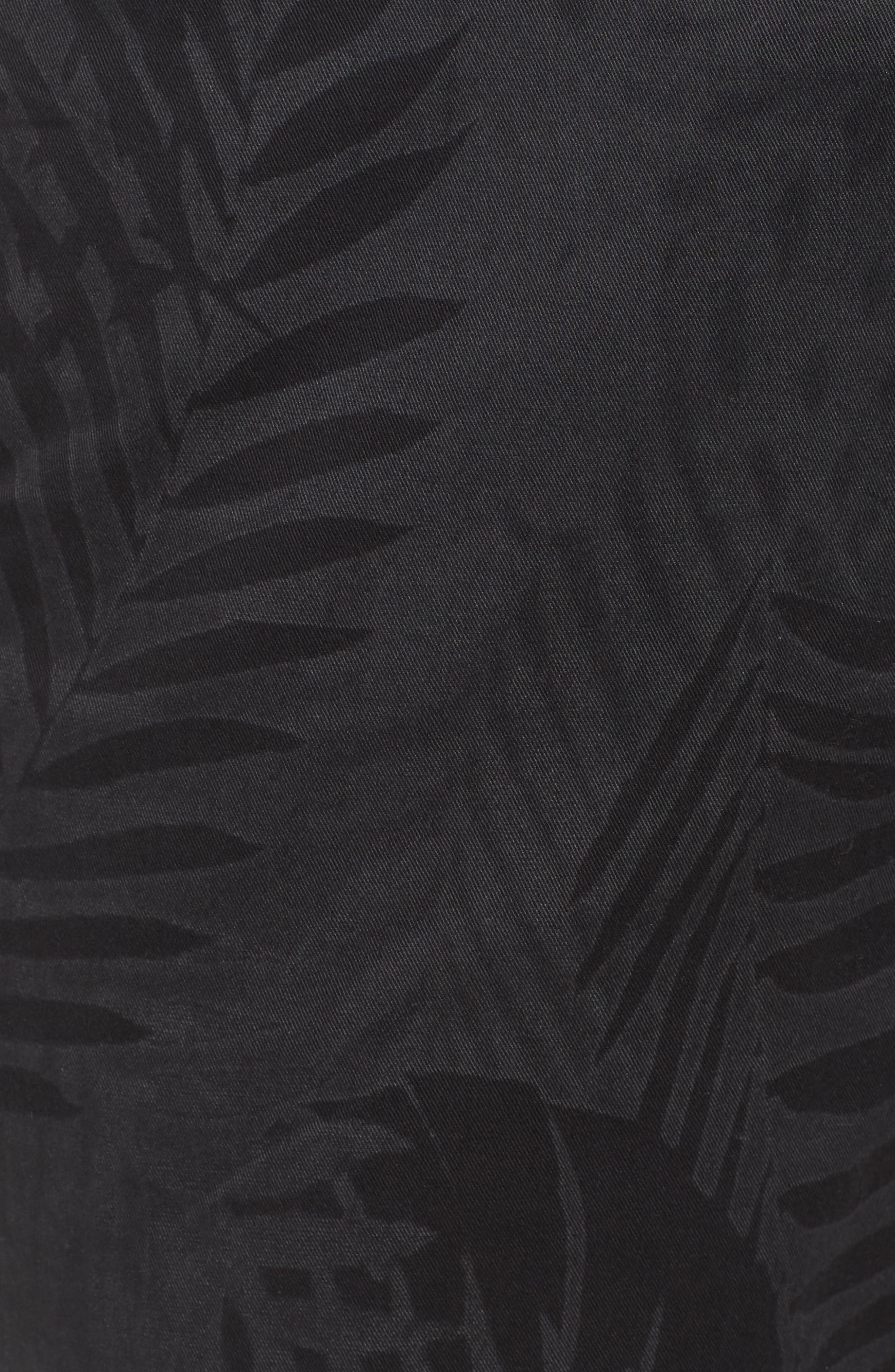 Psycho Bunny Tropical Shorts,                             Alternate thumbnail 5, color,                             001