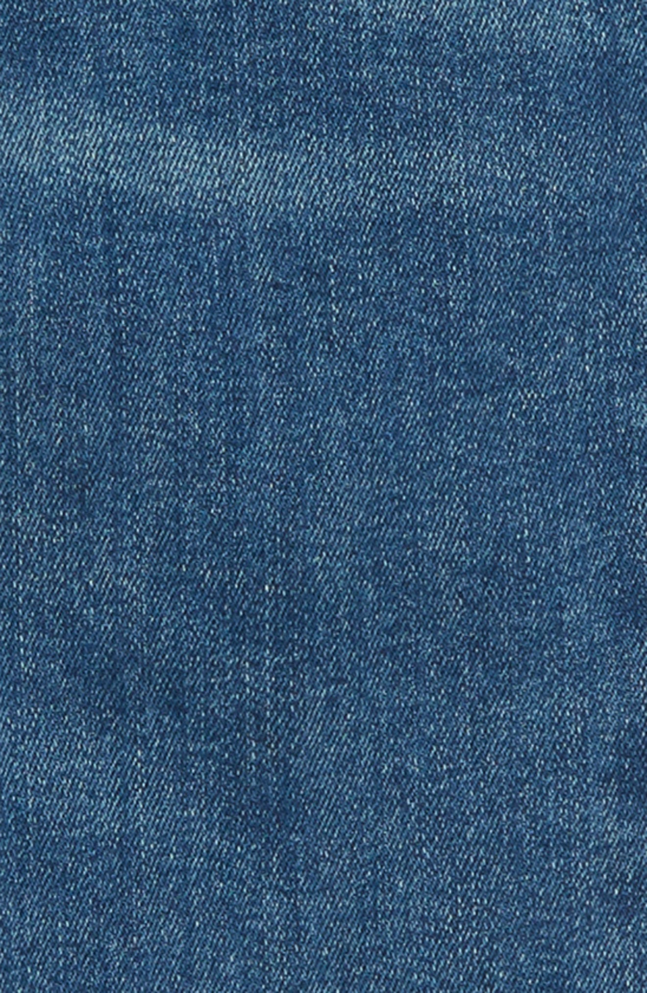 Stretch Toothpick Jeans,                             Alternate thumbnail 3, color,                             400