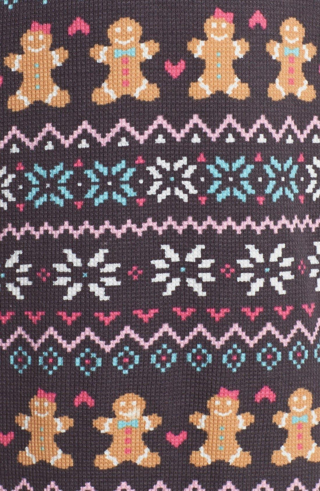 Thermal Knit Sleep Shirt,                             Alternate thumbnail 2, color,                             011