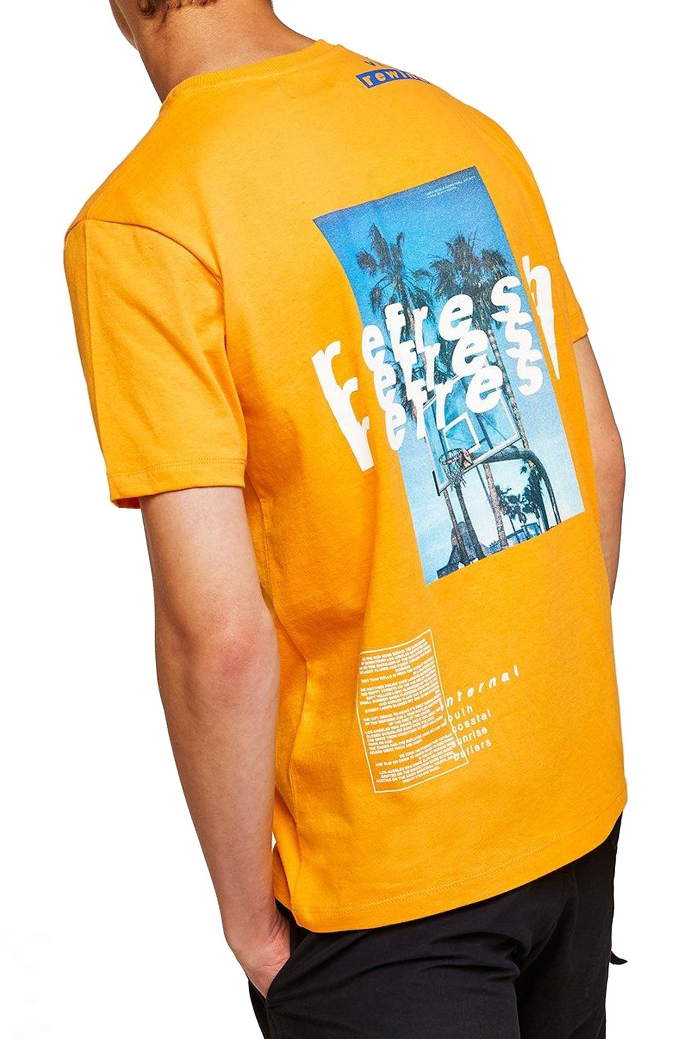Oversize Refresh Graphic T-Shirt,                             Alternate thumbnail 2, color,                             800