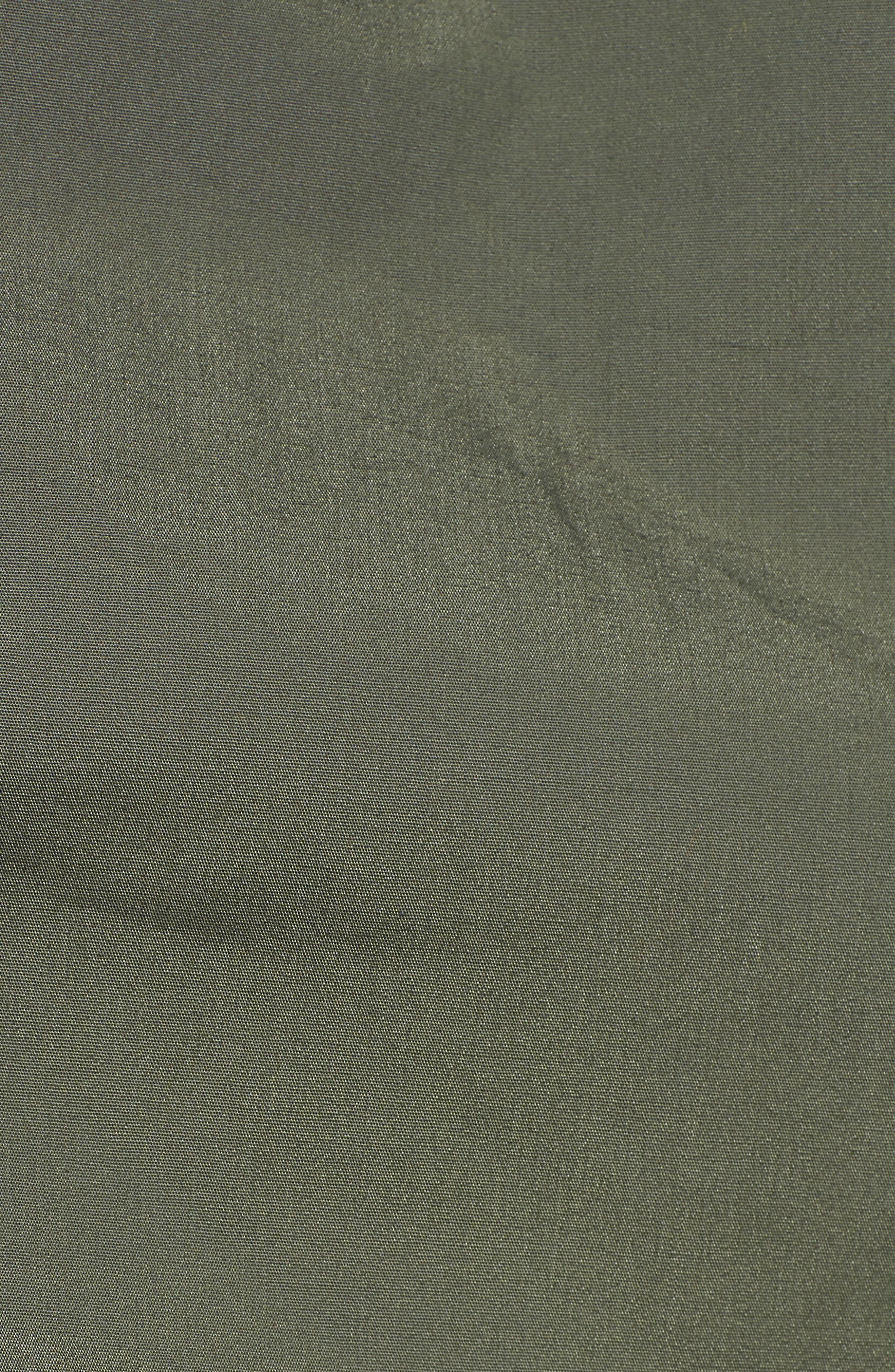 M-47 Faux Shearling Reversible Jacket,                             Alternate thumbnail 6, color,                             M-65 OLIVE