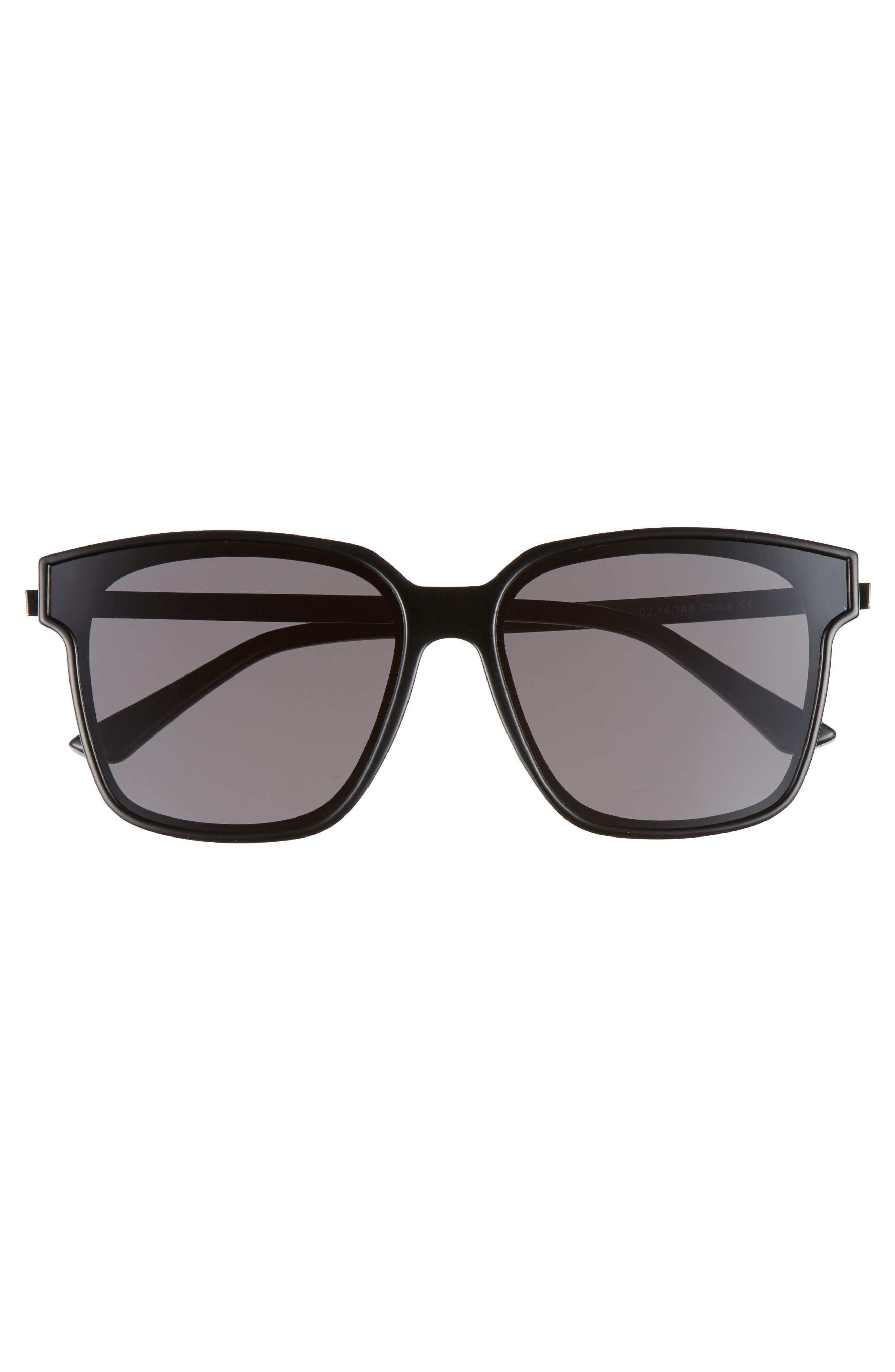 Wall 62mm Square Mirror Lens Sunglasses,                             Alternate thumbnail 10, color,
