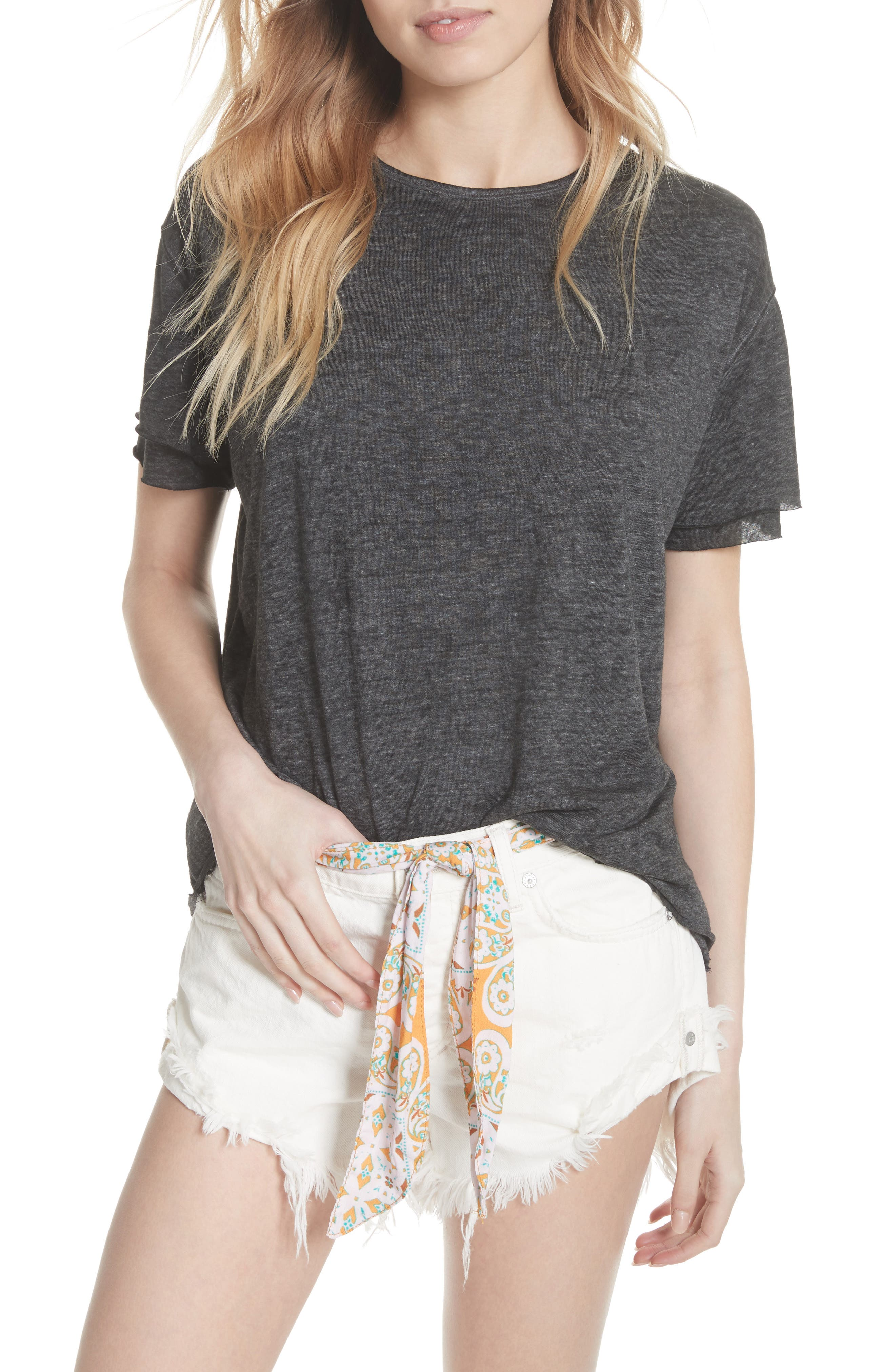 We the Free by Free People Cloud Nine Tee,                             Main thumbnail 1, color,