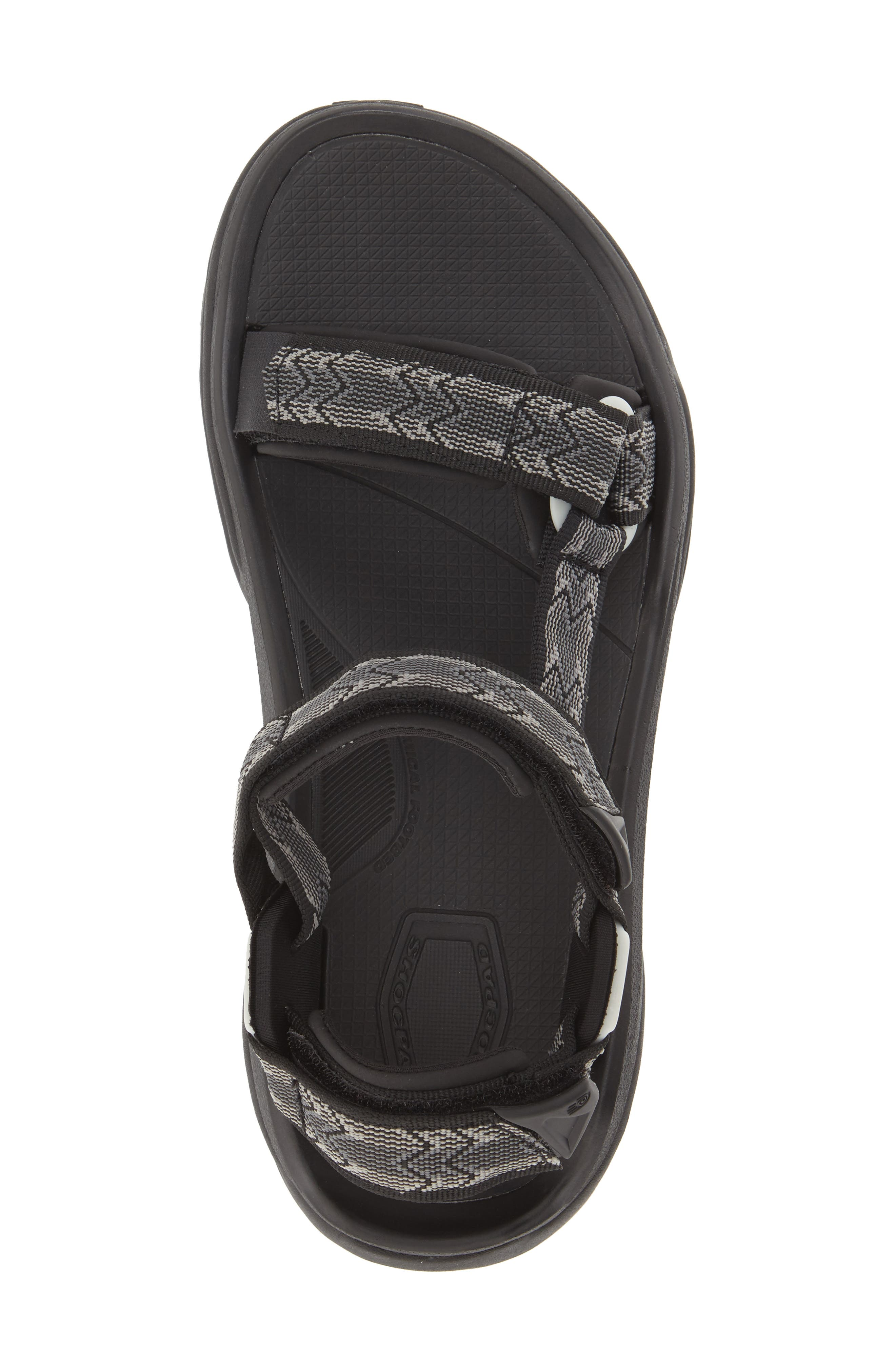 'Terra Fi 4' Sandal,                             Alternate thumbnail 2, color,                             CROSS TERRA BLACK