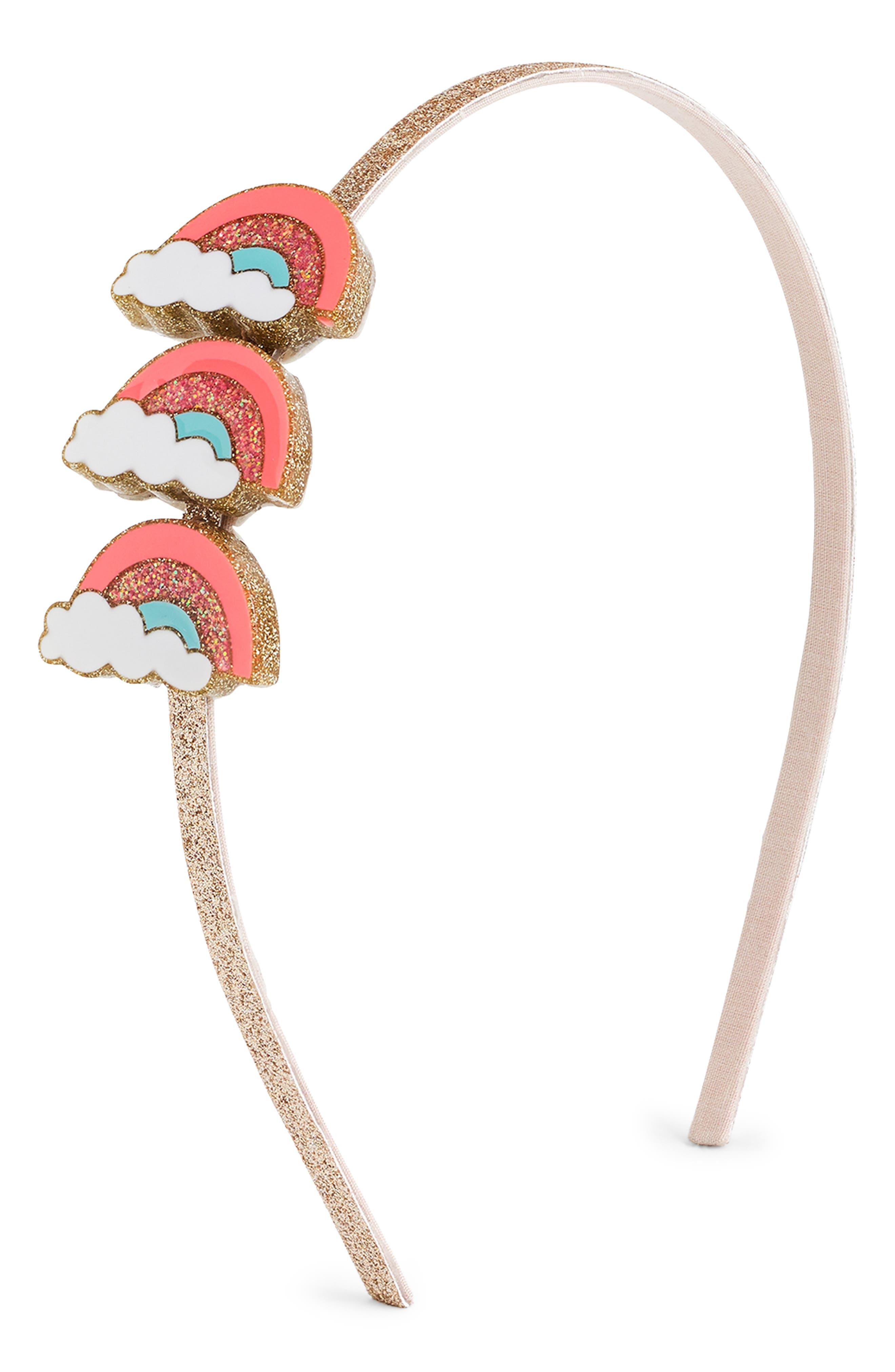 Crewcuts By Jcrew Rainbow Headband Size One Size  Pink