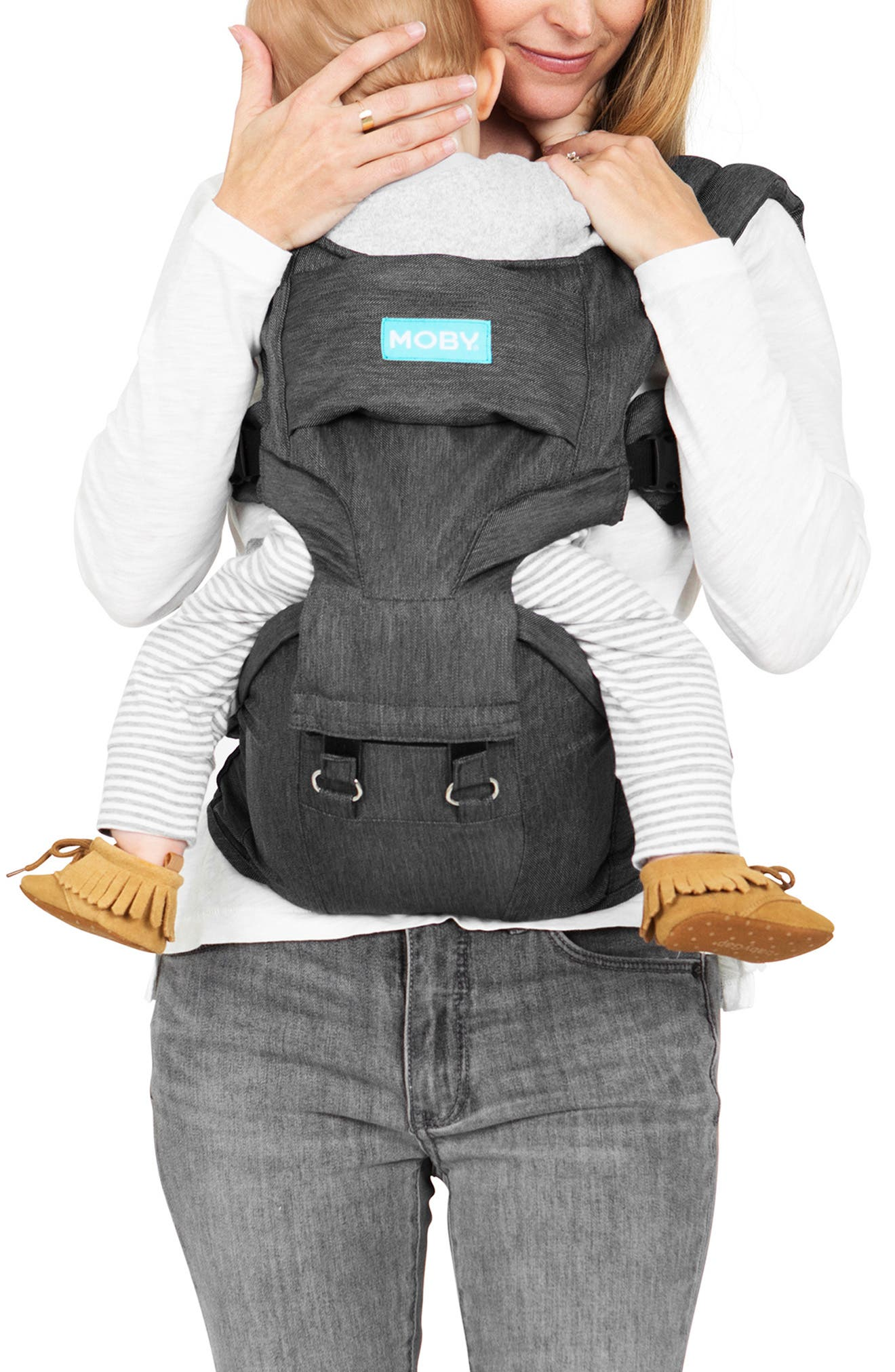 2-in-1 Baby Carrier & Hip Seat,                         Main,                         color, GREY