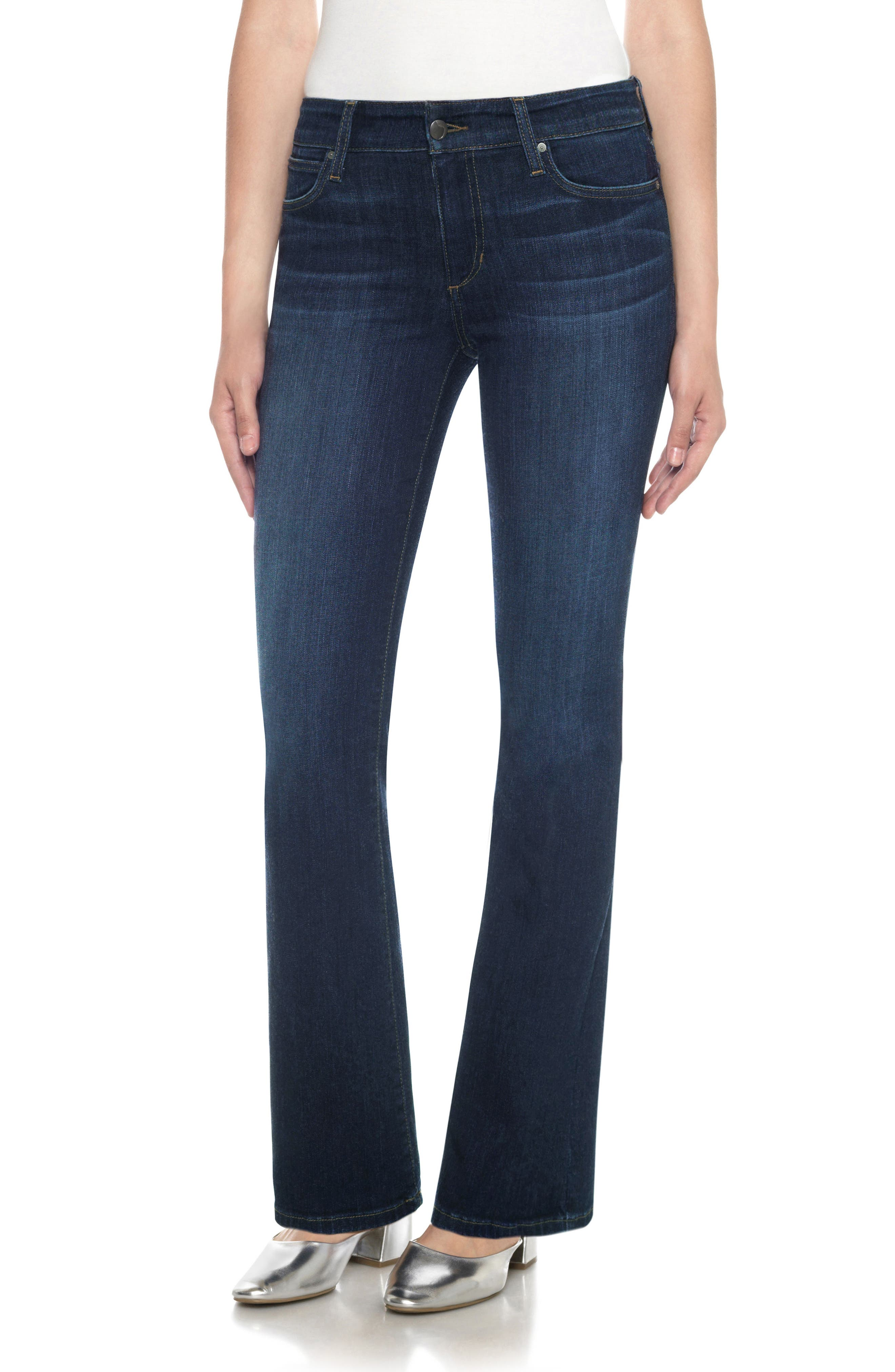 Flawless - Provocateur Bootcut Jeans,                             Main thumbnail 1, color,                             NURIE