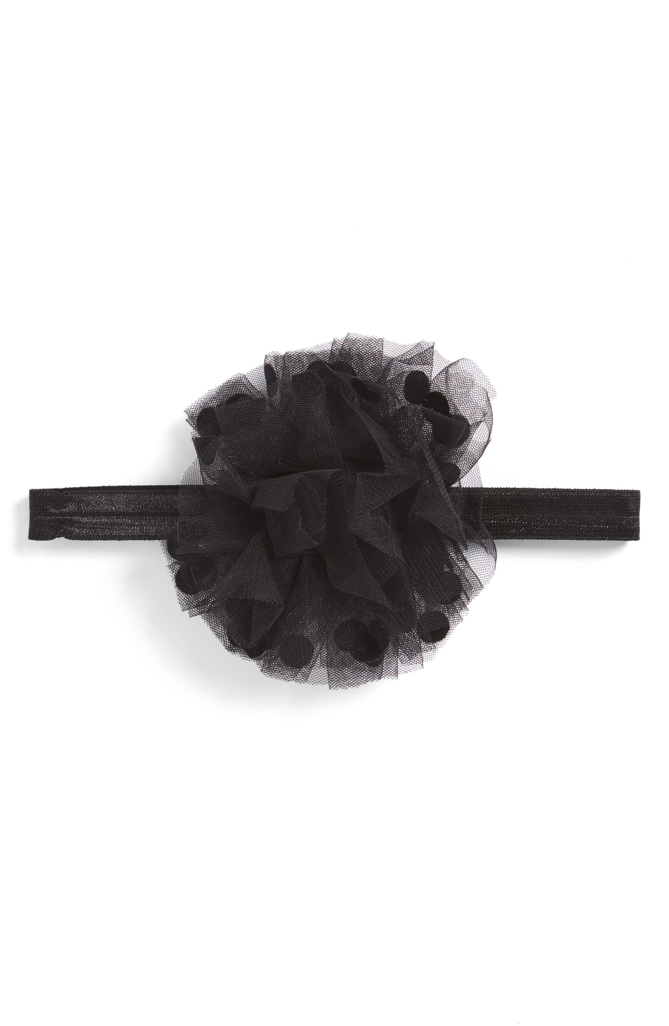 Polka Dot Headband,                         Main,                         color, 010