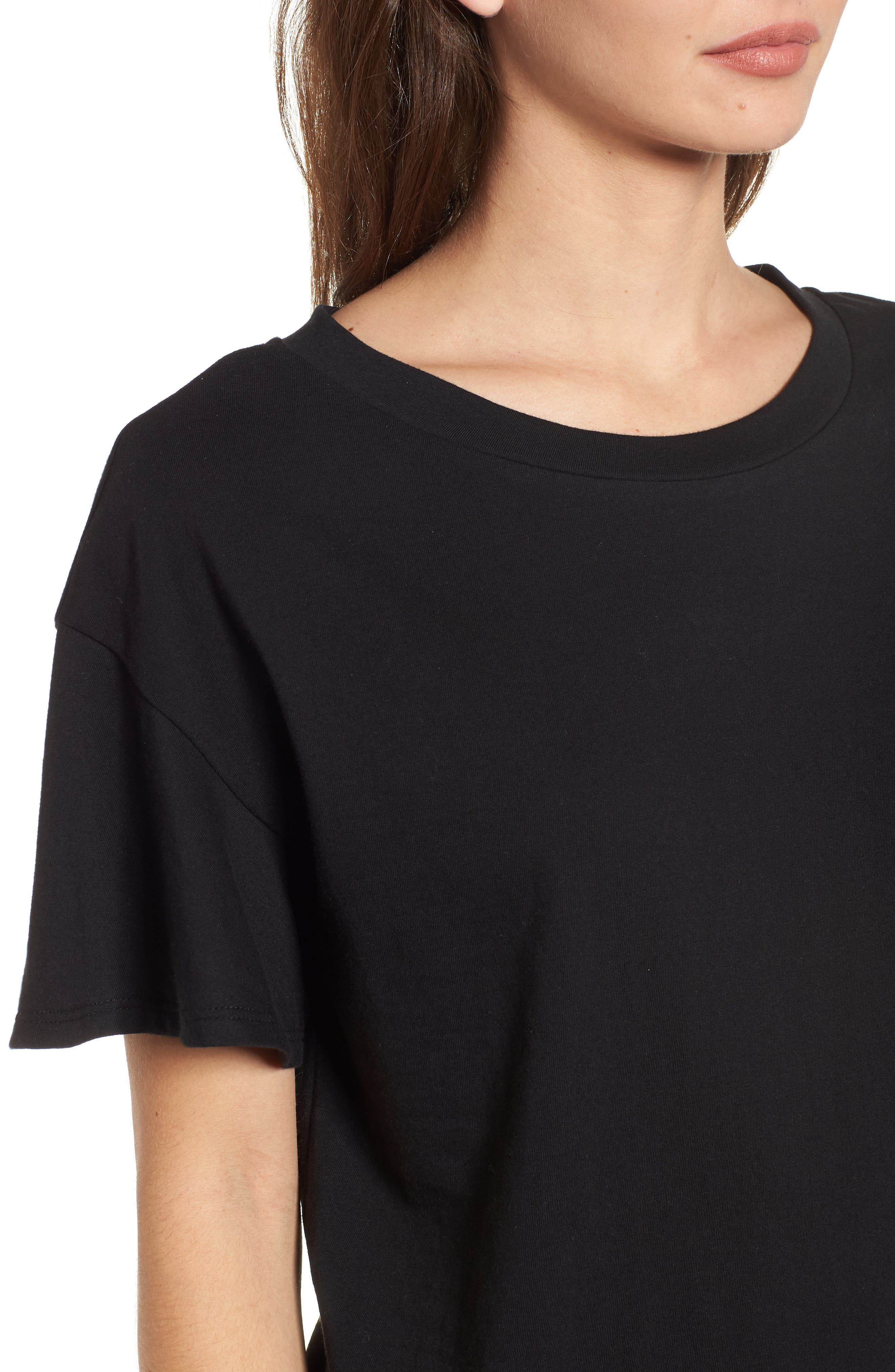Flutter Sleeve Tee,                             Alternate thumbnail 10, color,