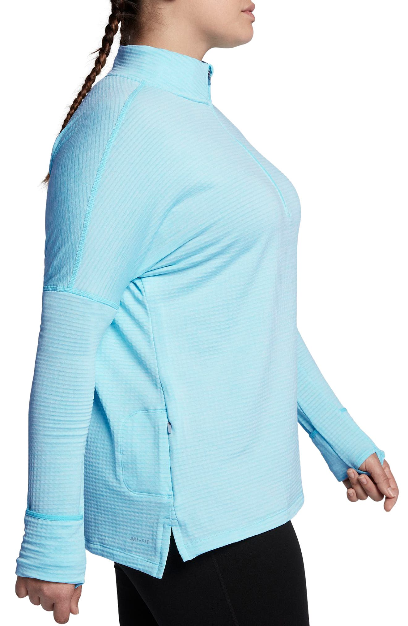 Sphere Element Long Sleeve Running Top,                             Alternate thumbnail 11, color,