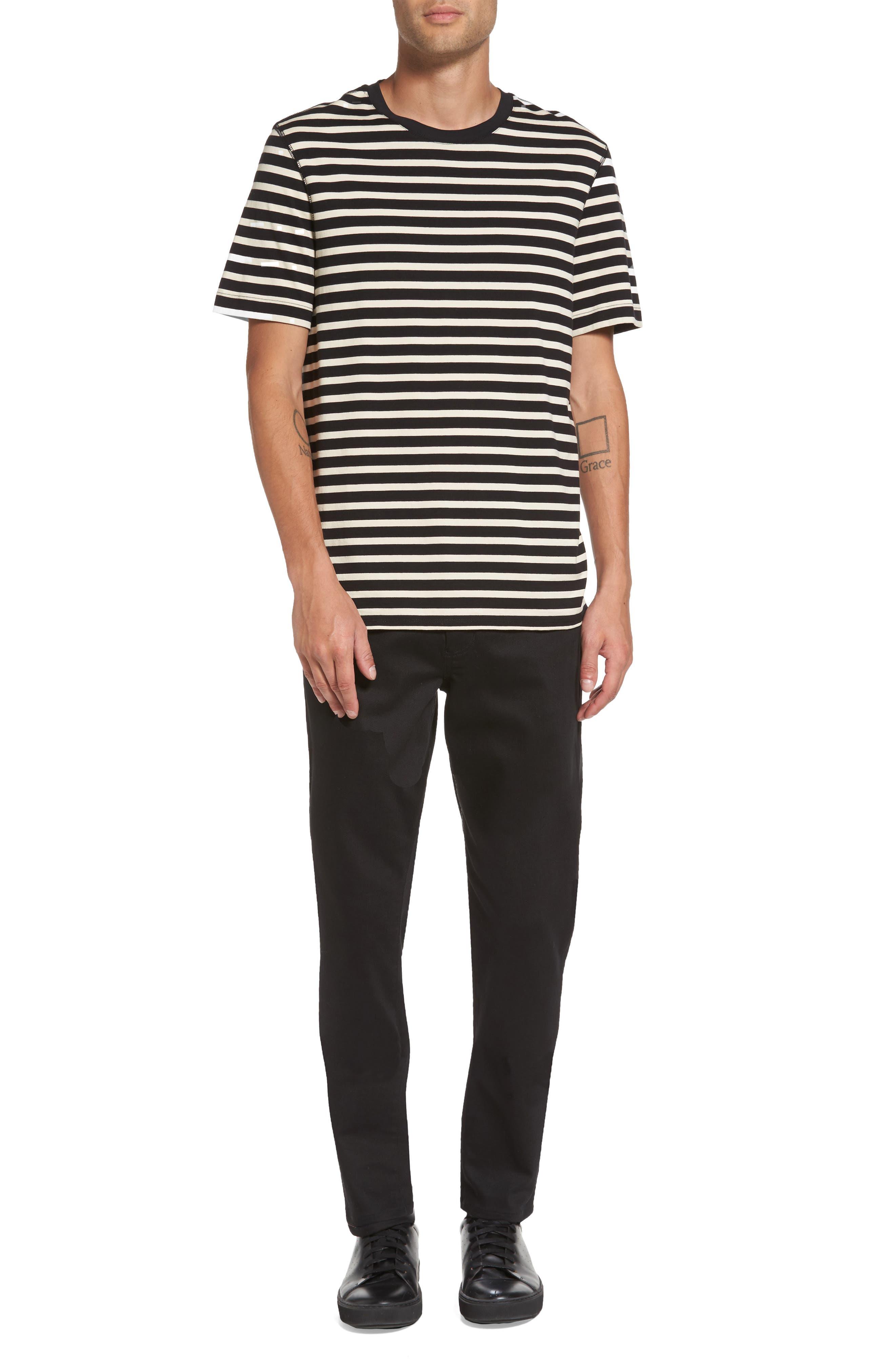 Stripe T-Shirt,                             Alternate thumbnail 7, color,                             004