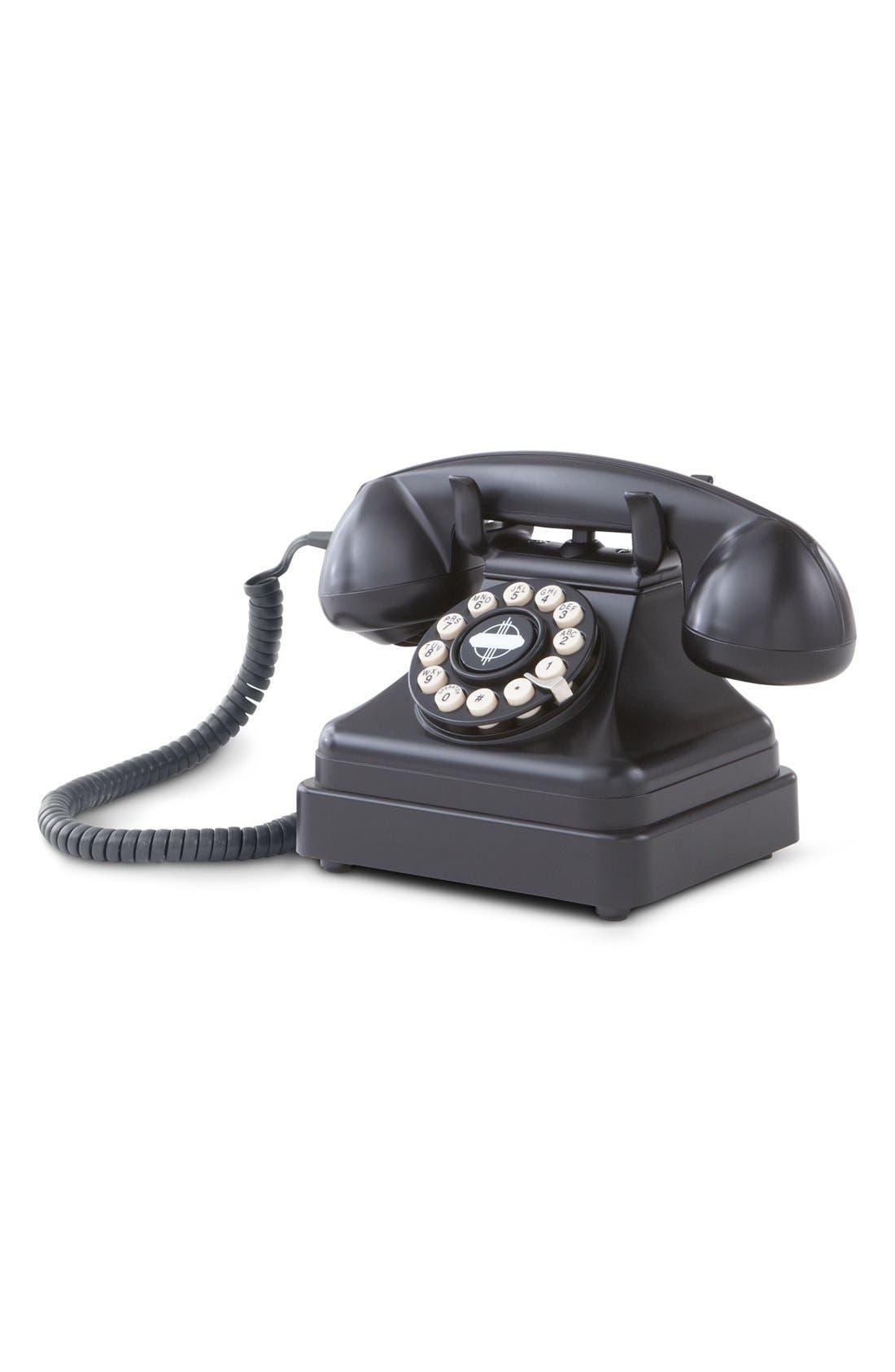 'Kettle' Desk Phone,                             Alternate thumbnail 2, color,                             BLACK