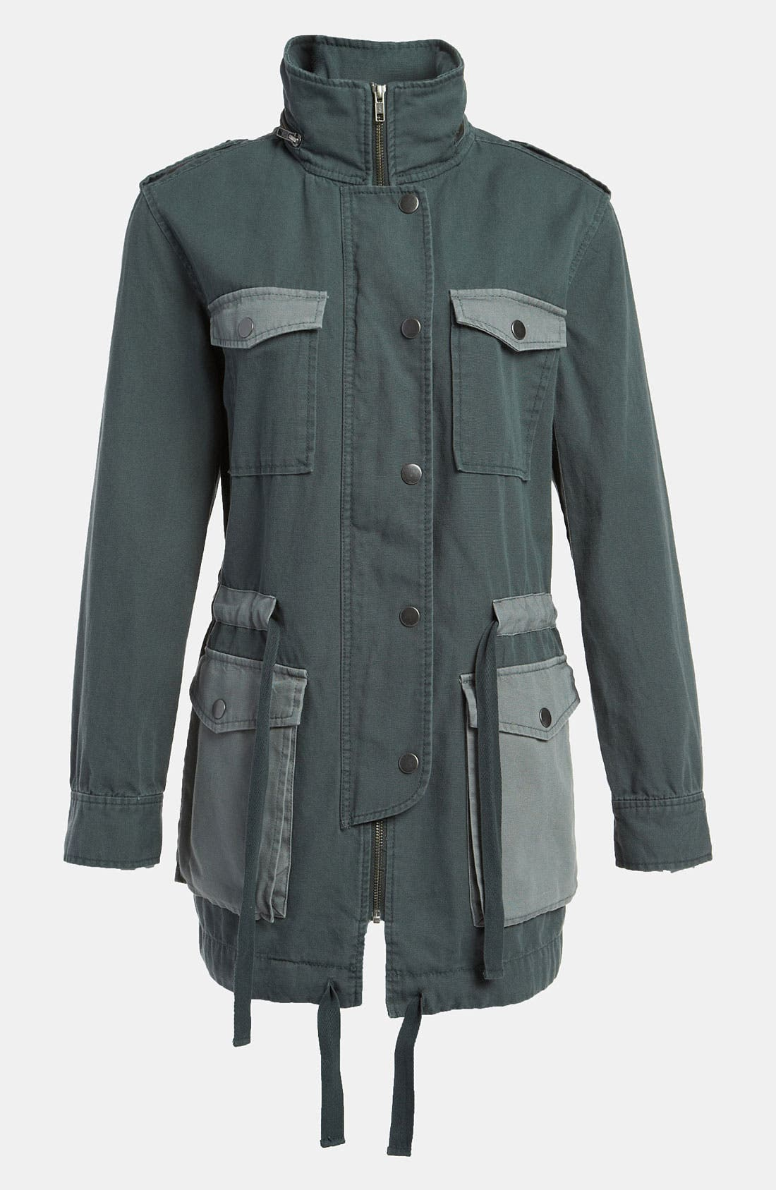 Colorblock Field Jacket, Main, color, 021