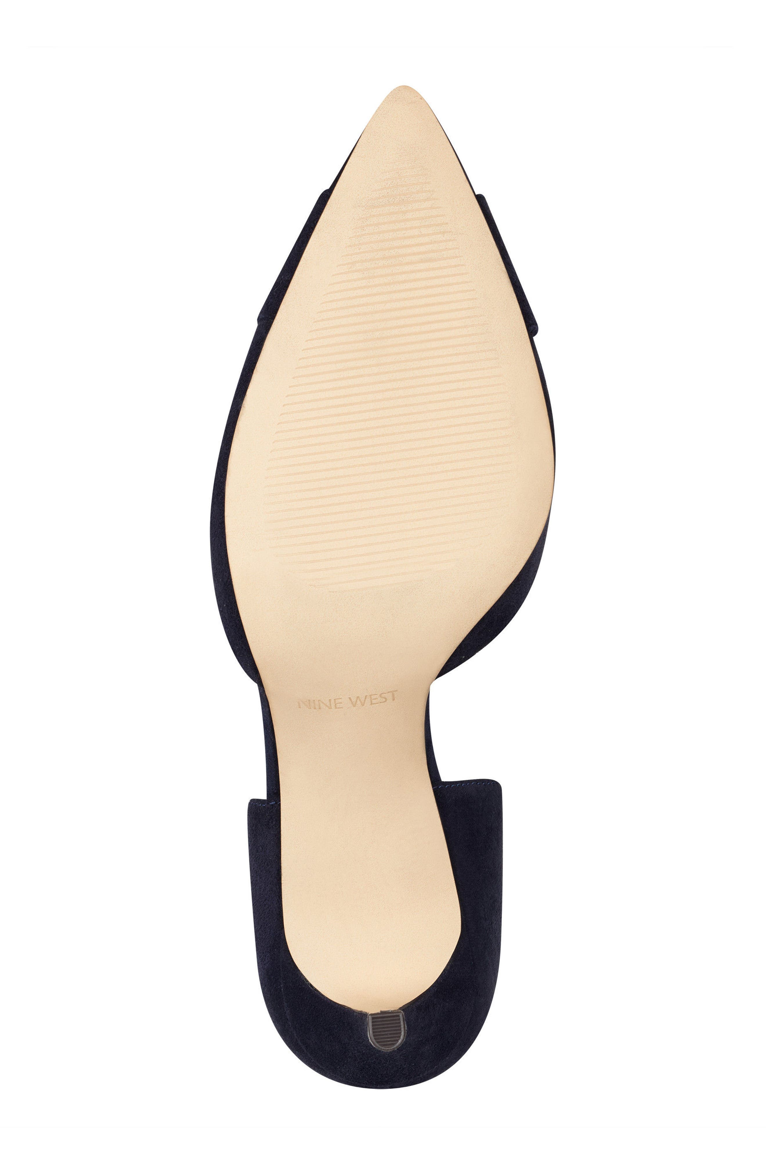 McFally d'Orsay Pump,                             Alternate thumbnail 6, color,                             NAVY SUEDE