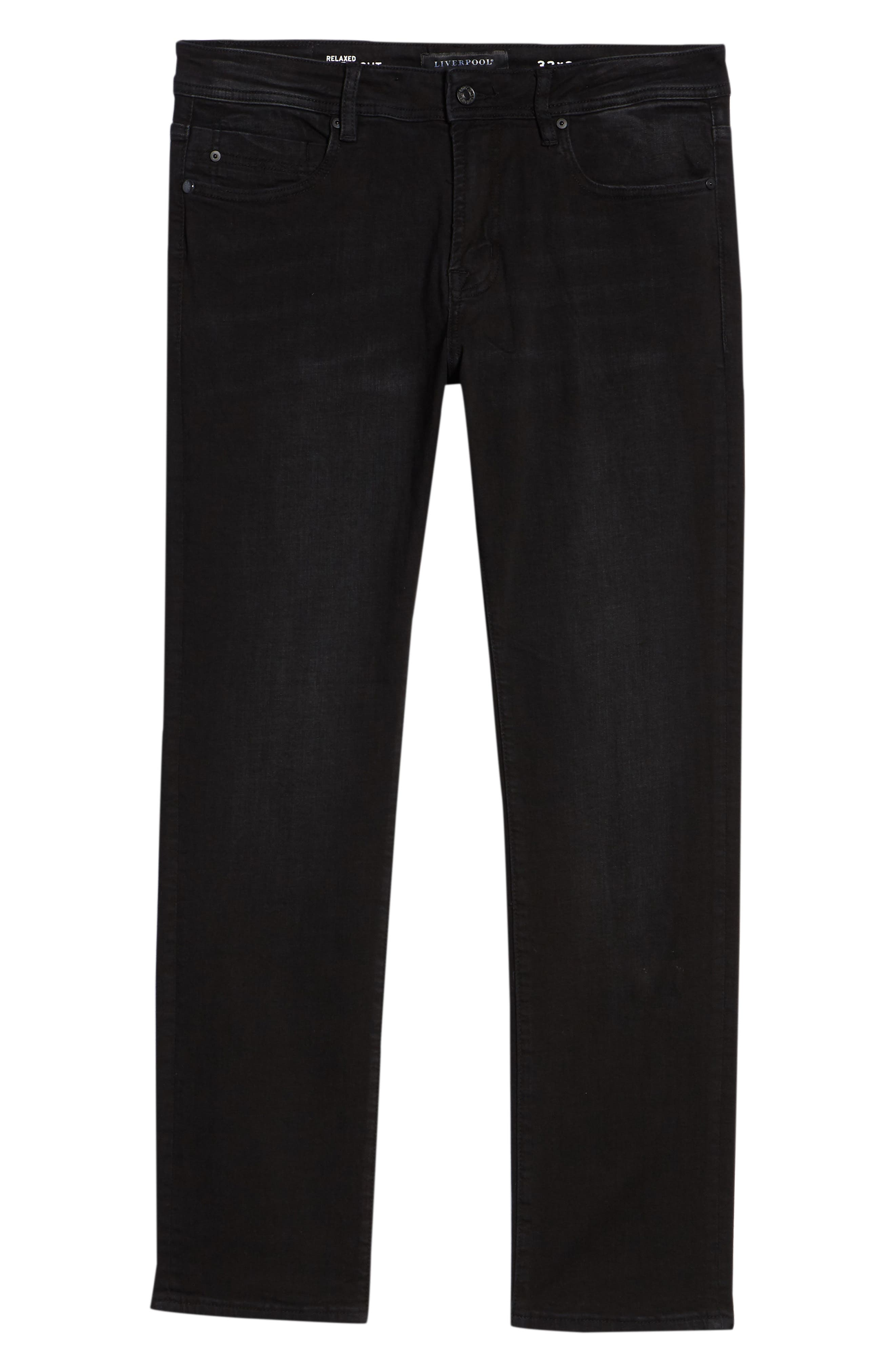 Relaxed Fit Jeans,                             Alternate thumbnail 6, color,                             002