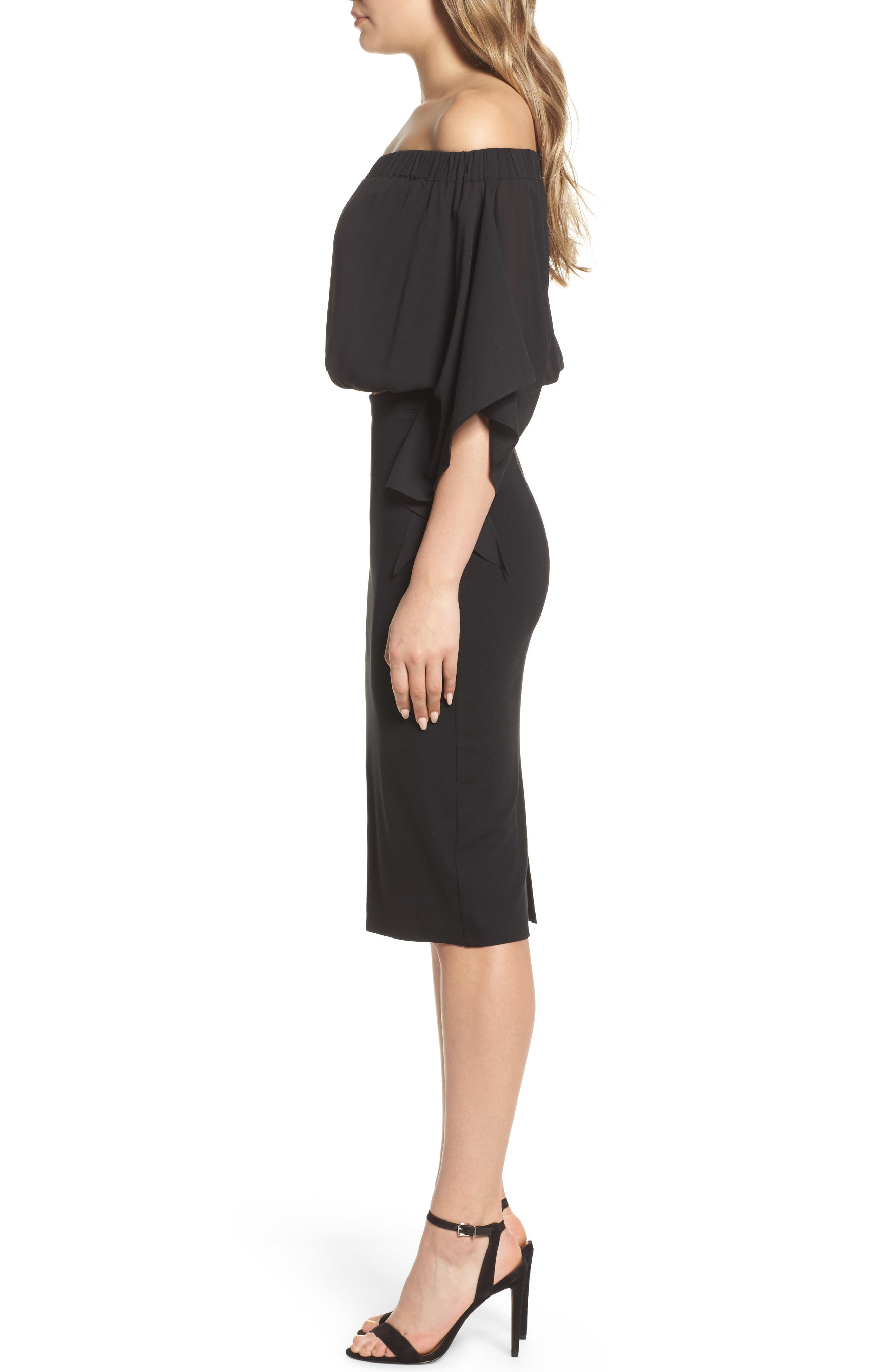 Sweet Smell of Success Two-Piece Dress,                             Alternate thumbnail 3, color,                             001