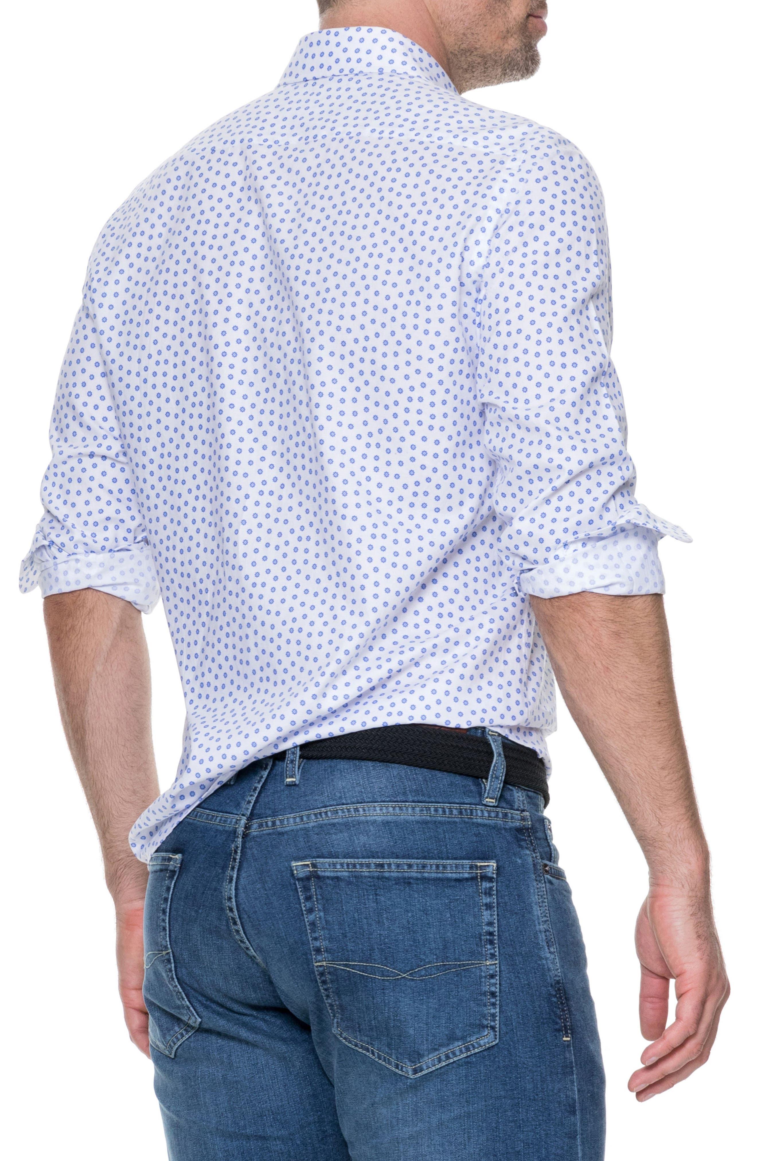 RODD & GUNN,                             Drummond Regular Fit Sport Shirt,                             Alternate thumbnail 2, color,                             111