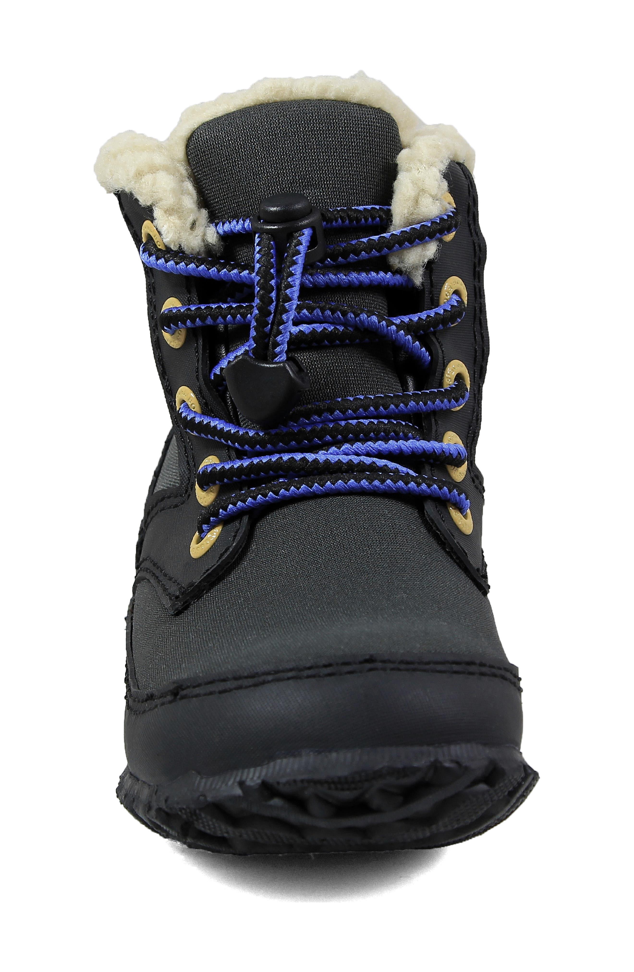 Skyler Faux Fur Insulated Waterproof Boot,                             Alternate thumbnail 10, color,