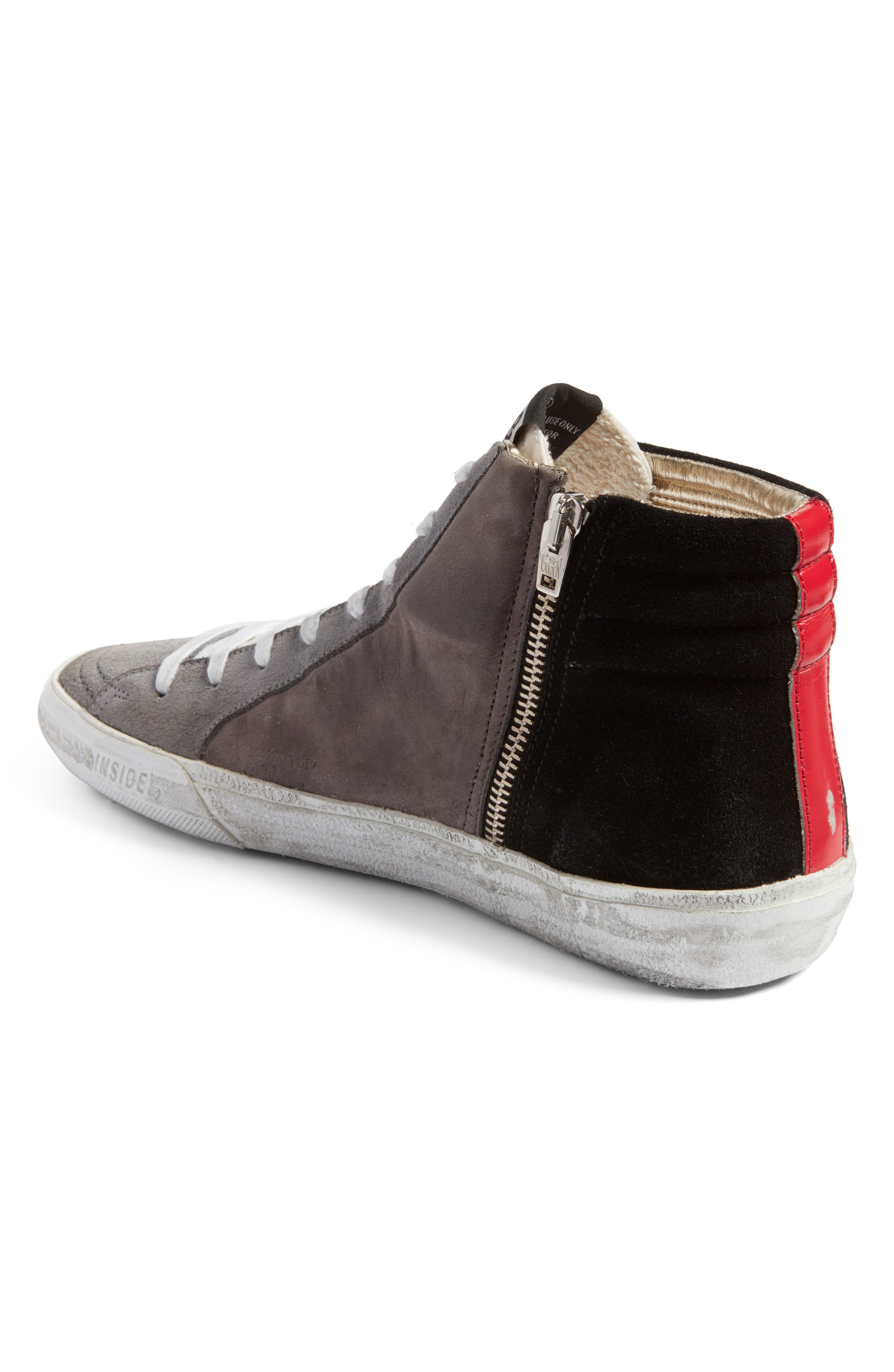 Slide High Top Sneaker,                             Alternate thumbnail 2, color,                             021